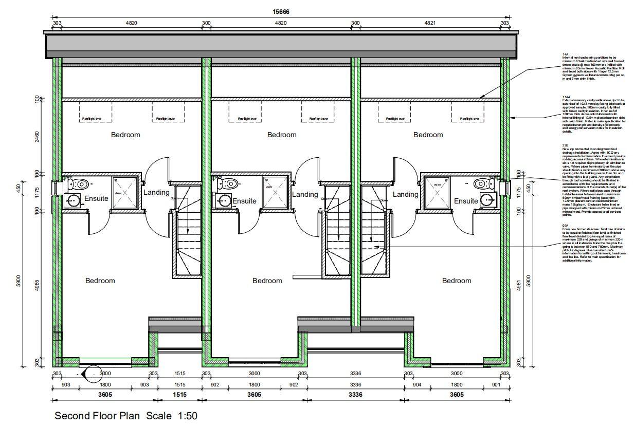3 Bedroom Town House For Sale - Floorplan 3