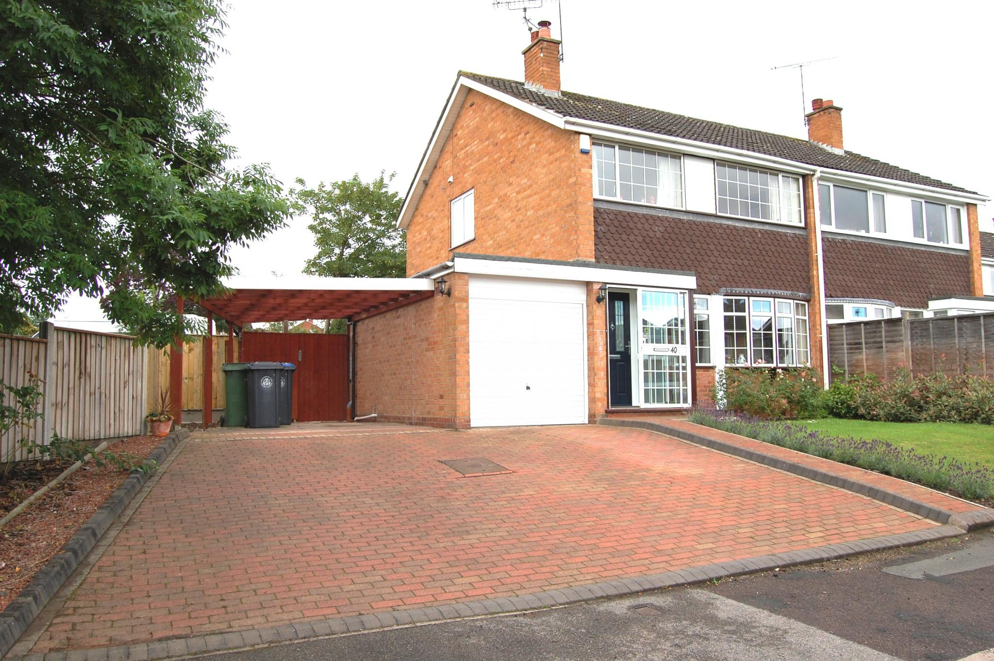 Gunners Lane Studley 3 Bedroom Semi Detached House Under Offer Studley