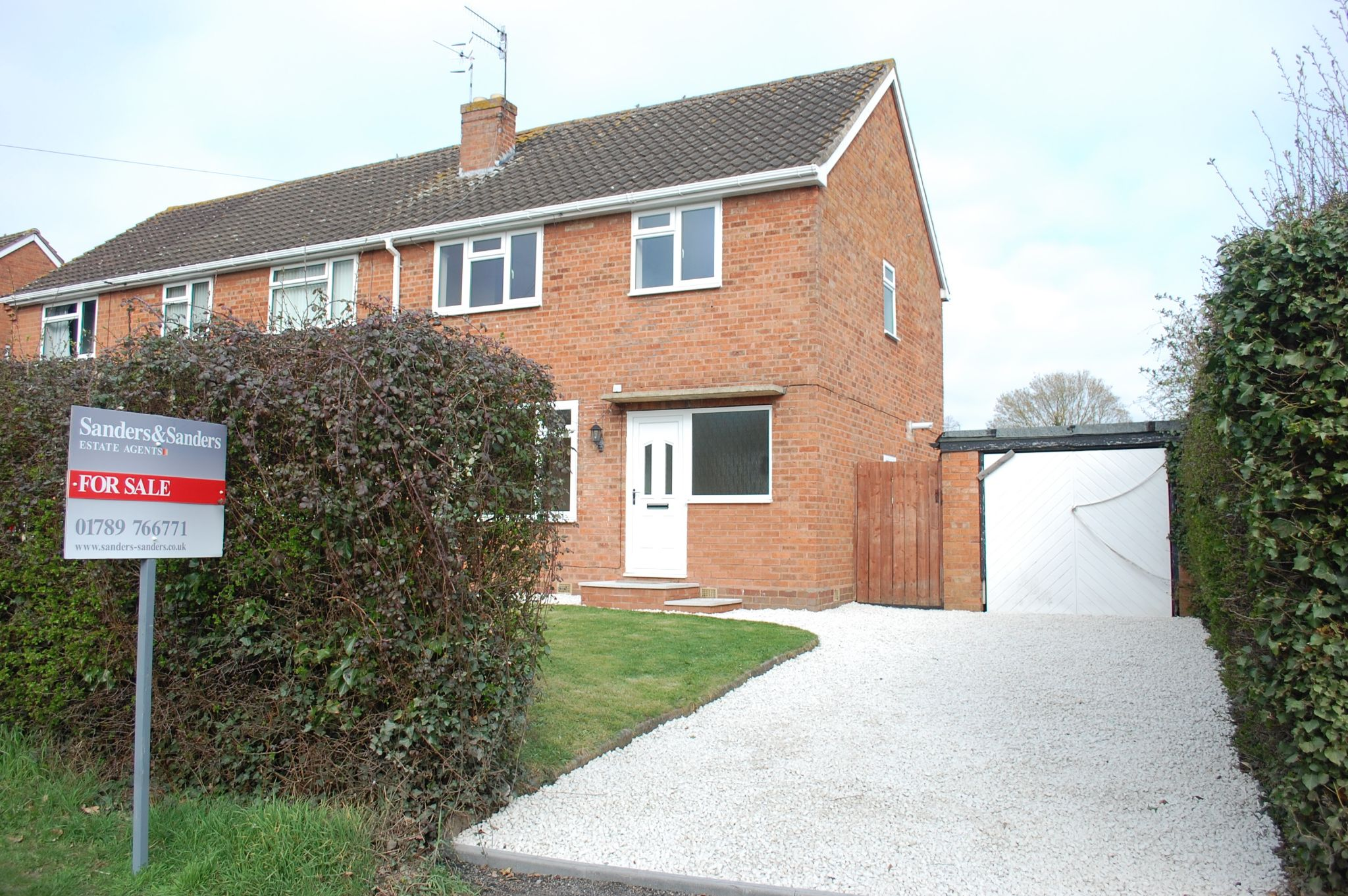 3 bedroom semi-detached house For Sale in Great Alne, Alcester - Property photograph