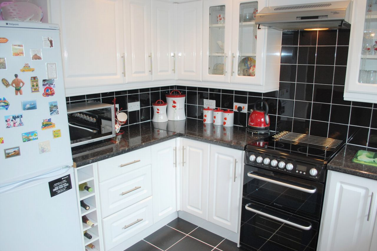 Image 2 of 2 of Stylish Kitchen Area, on Accommodation Comprising