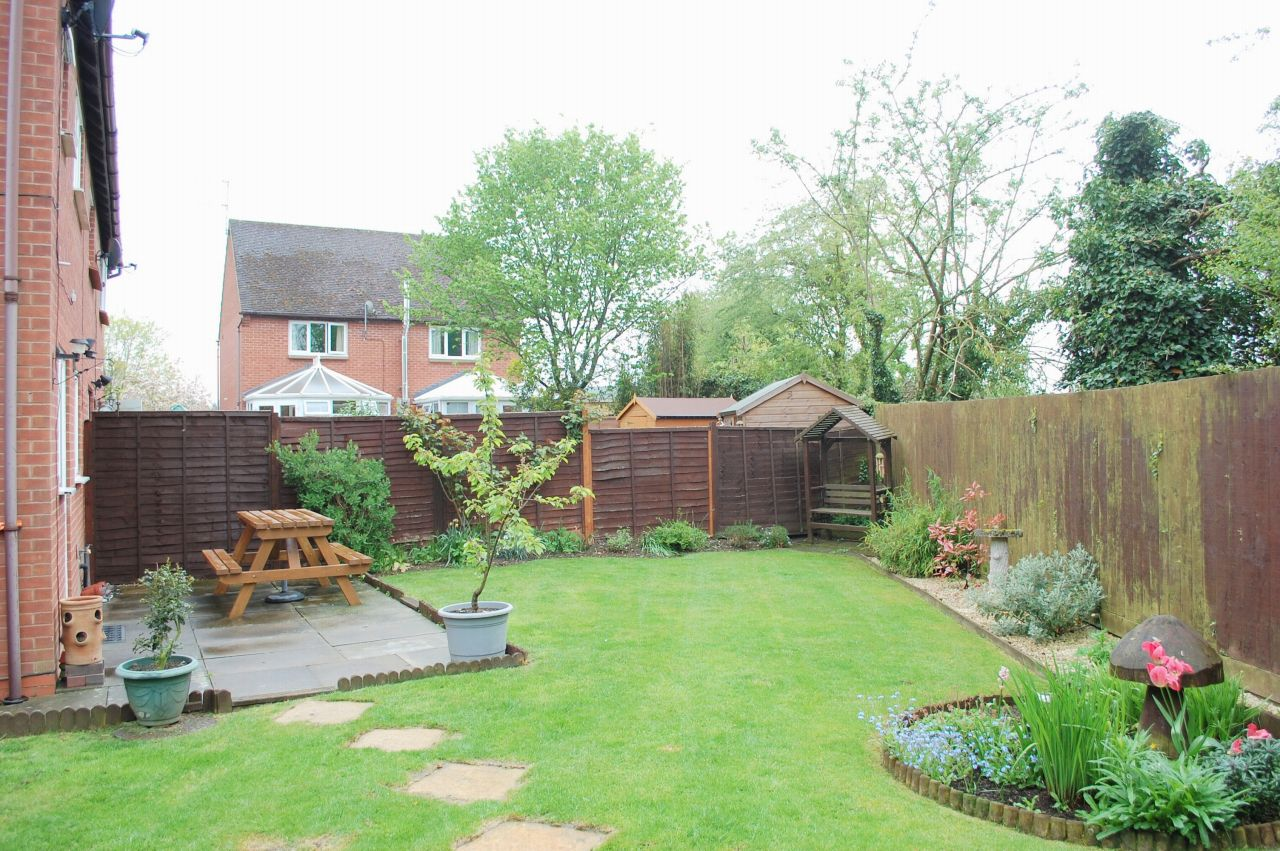 Image 2 of 2 of Sizeable and Delightful Enclosed Rear Garden, on Accommodation Comprising