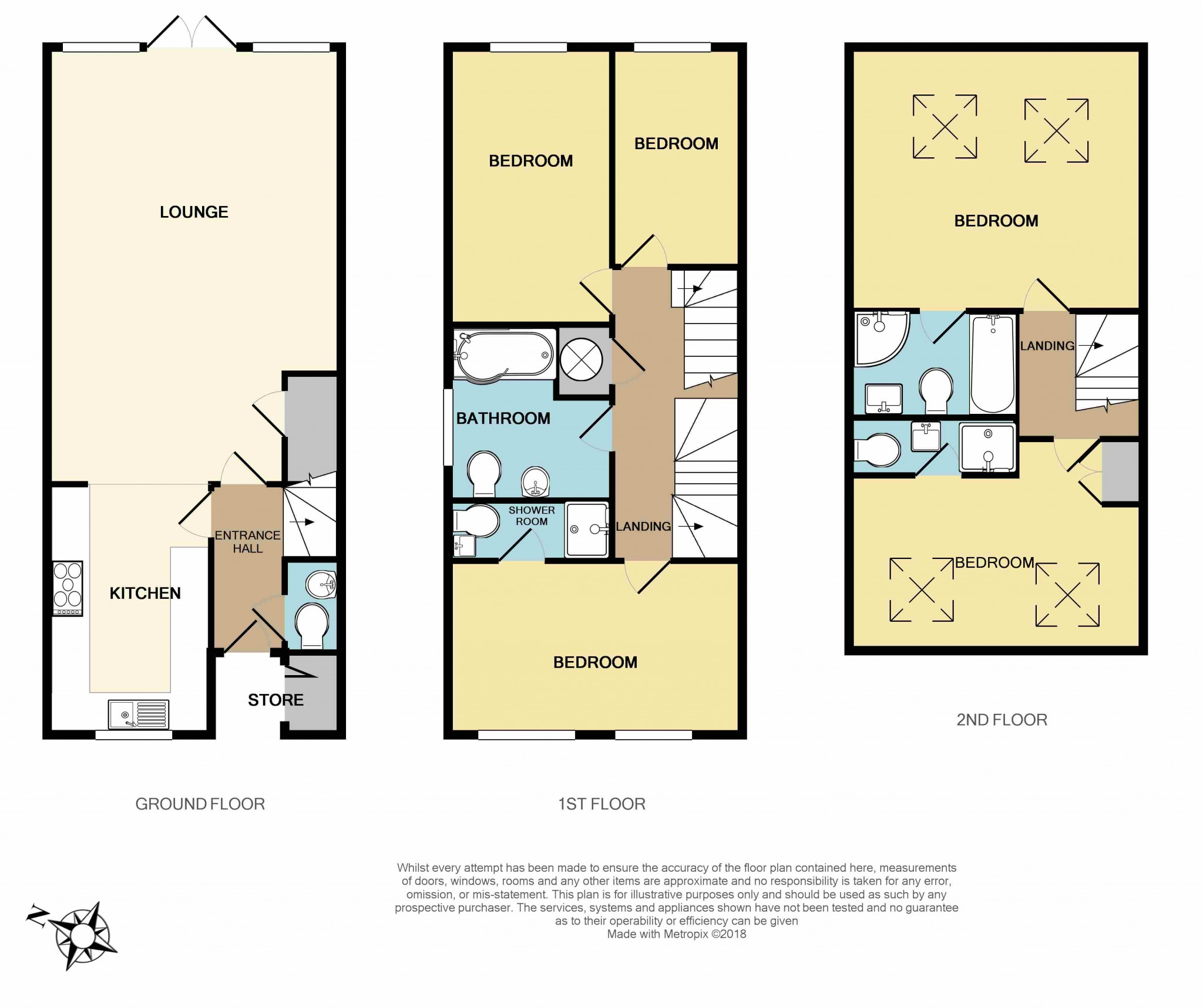 5 Bedroom Mews House For Sale - Floorplan 1
