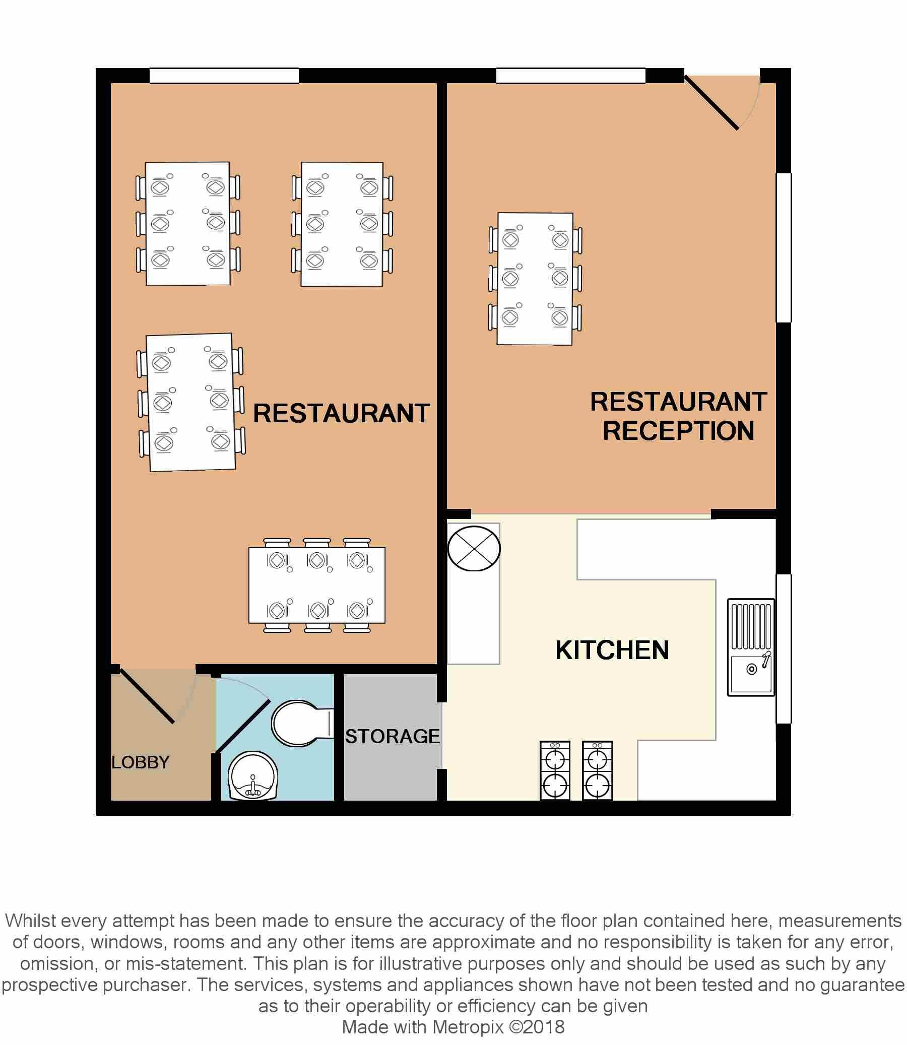 Restaurant For Sale - Floorplan 1