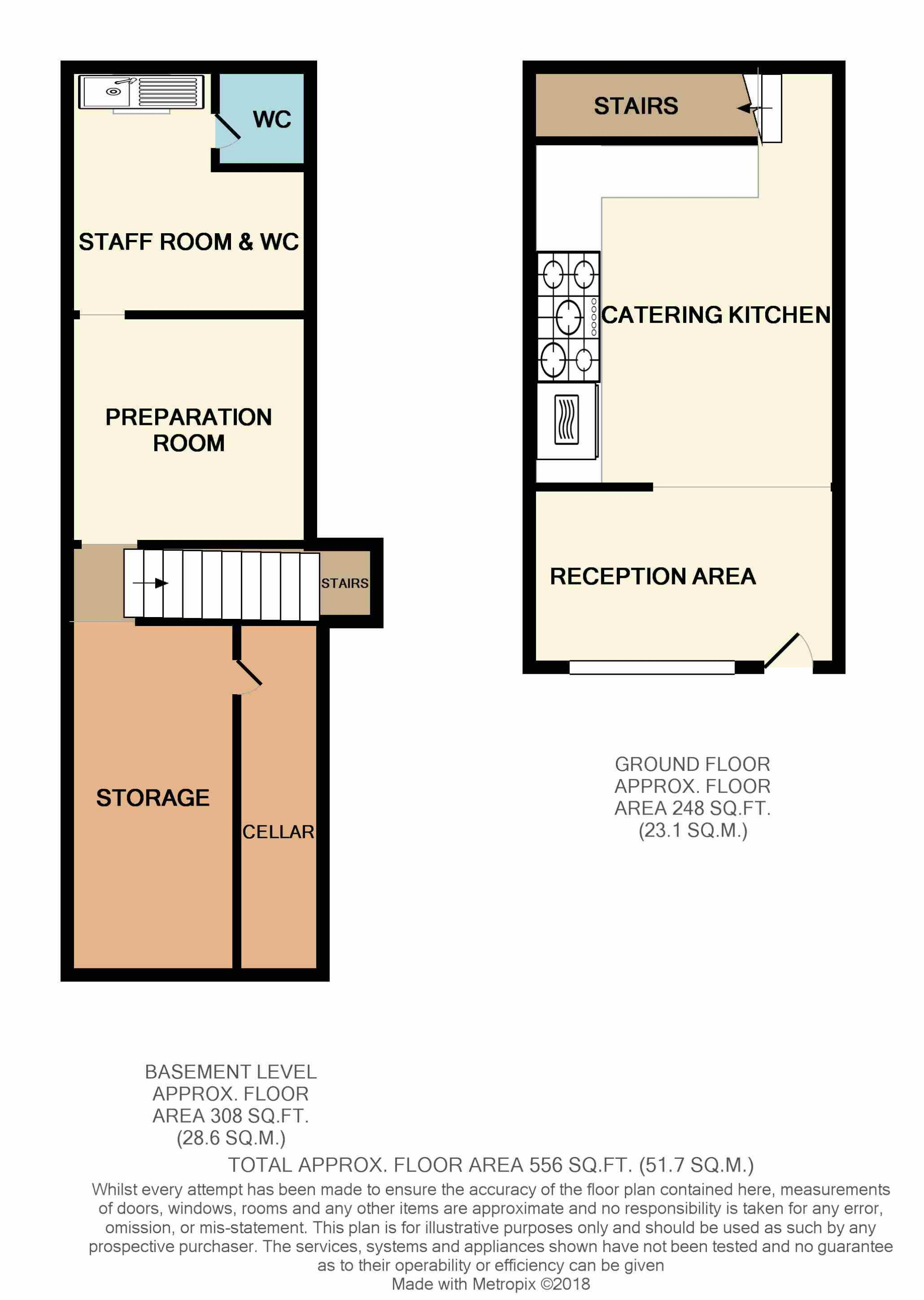 Shop To Rent - Floorplan 1