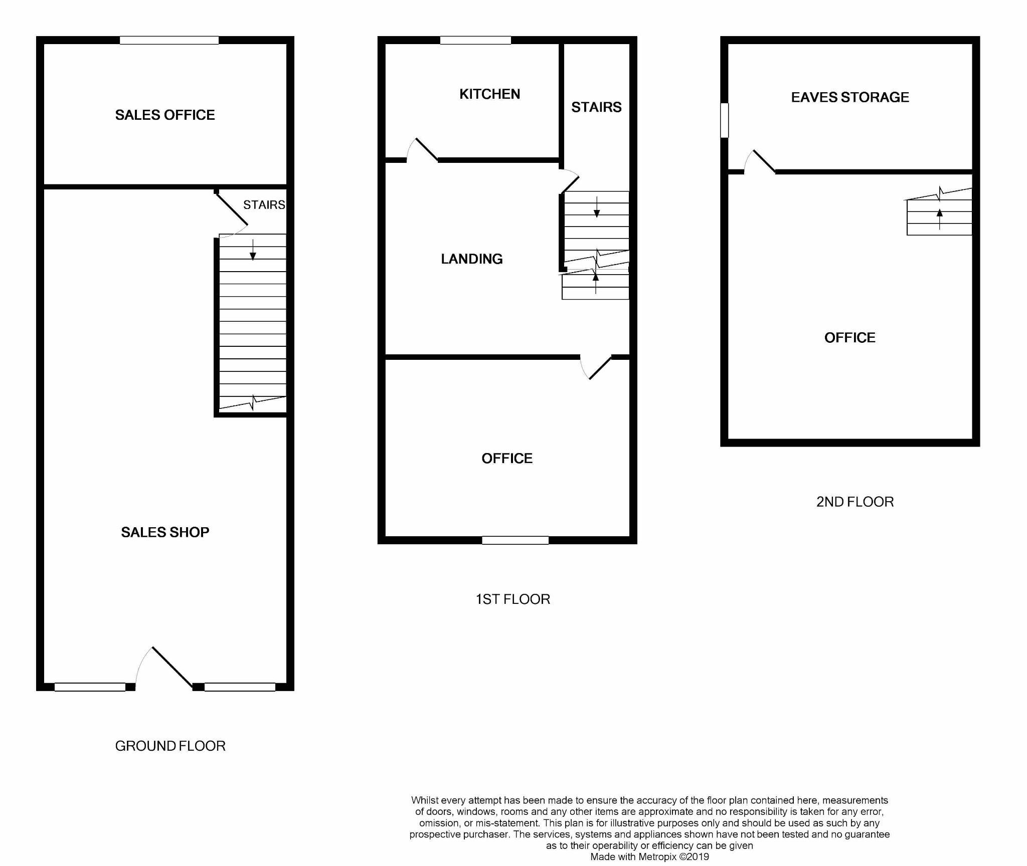 Shop To Rent - Floorplan 1