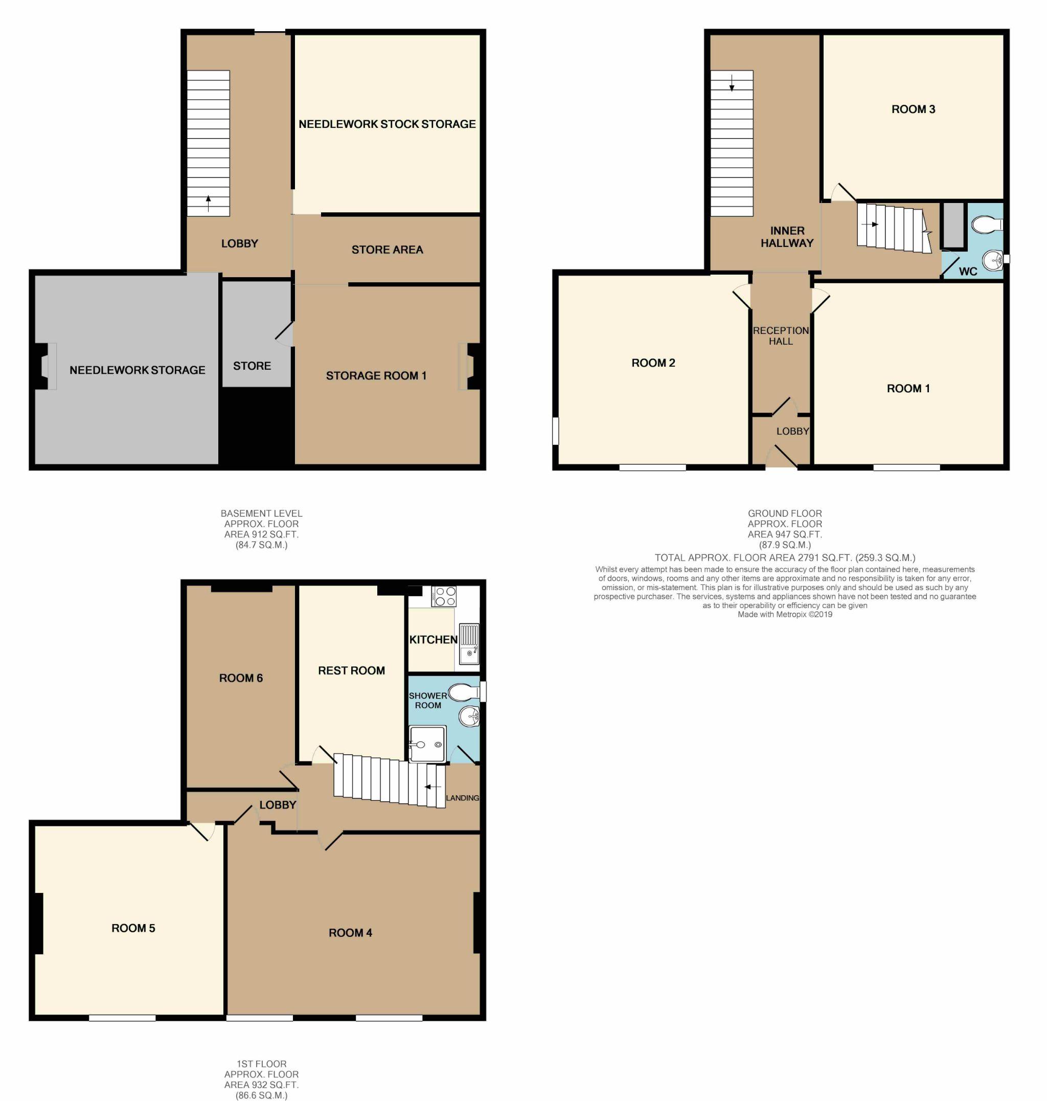 Office For Sale - Floorplan 1
