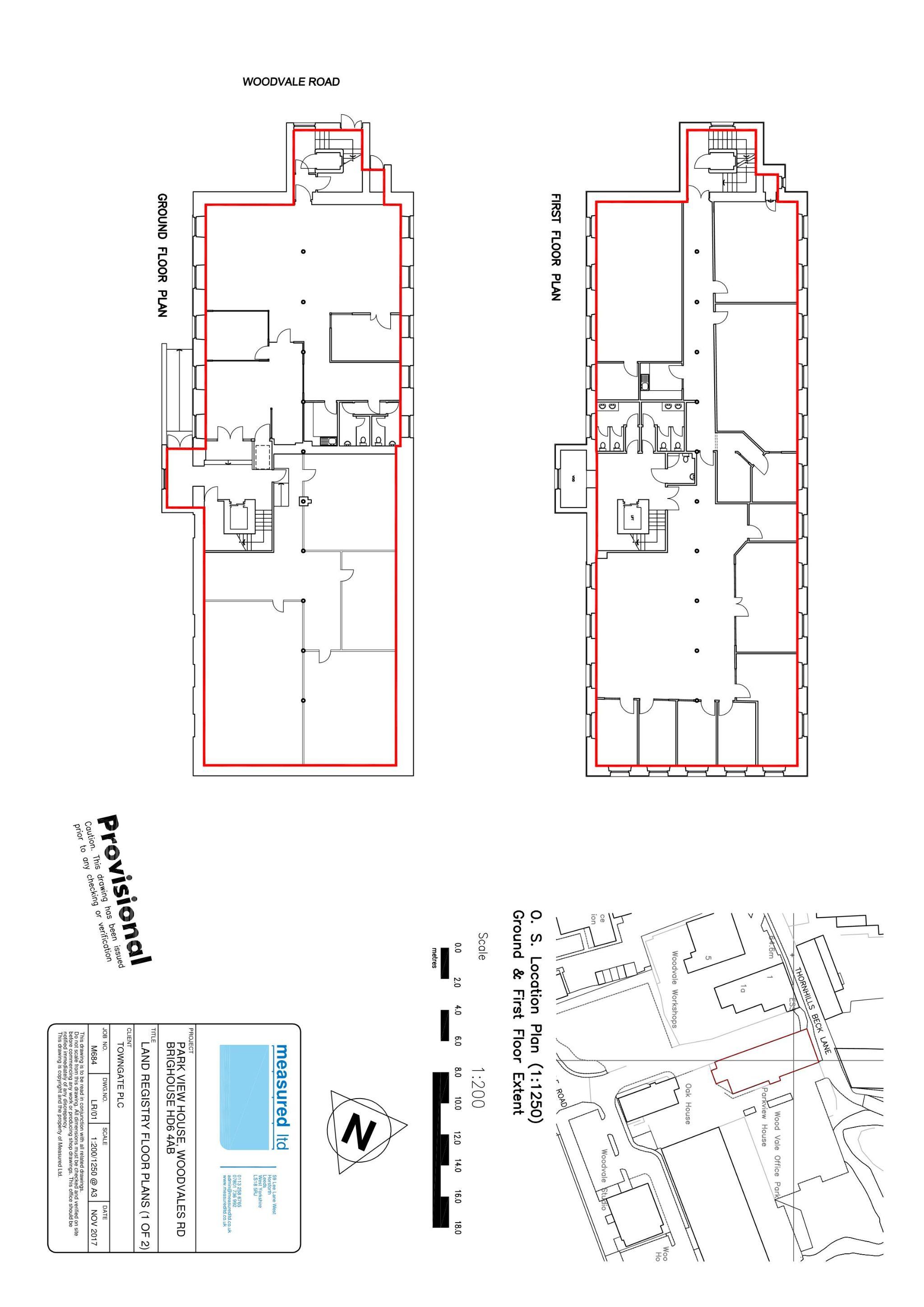 Office To Rent - Floorplan 1
