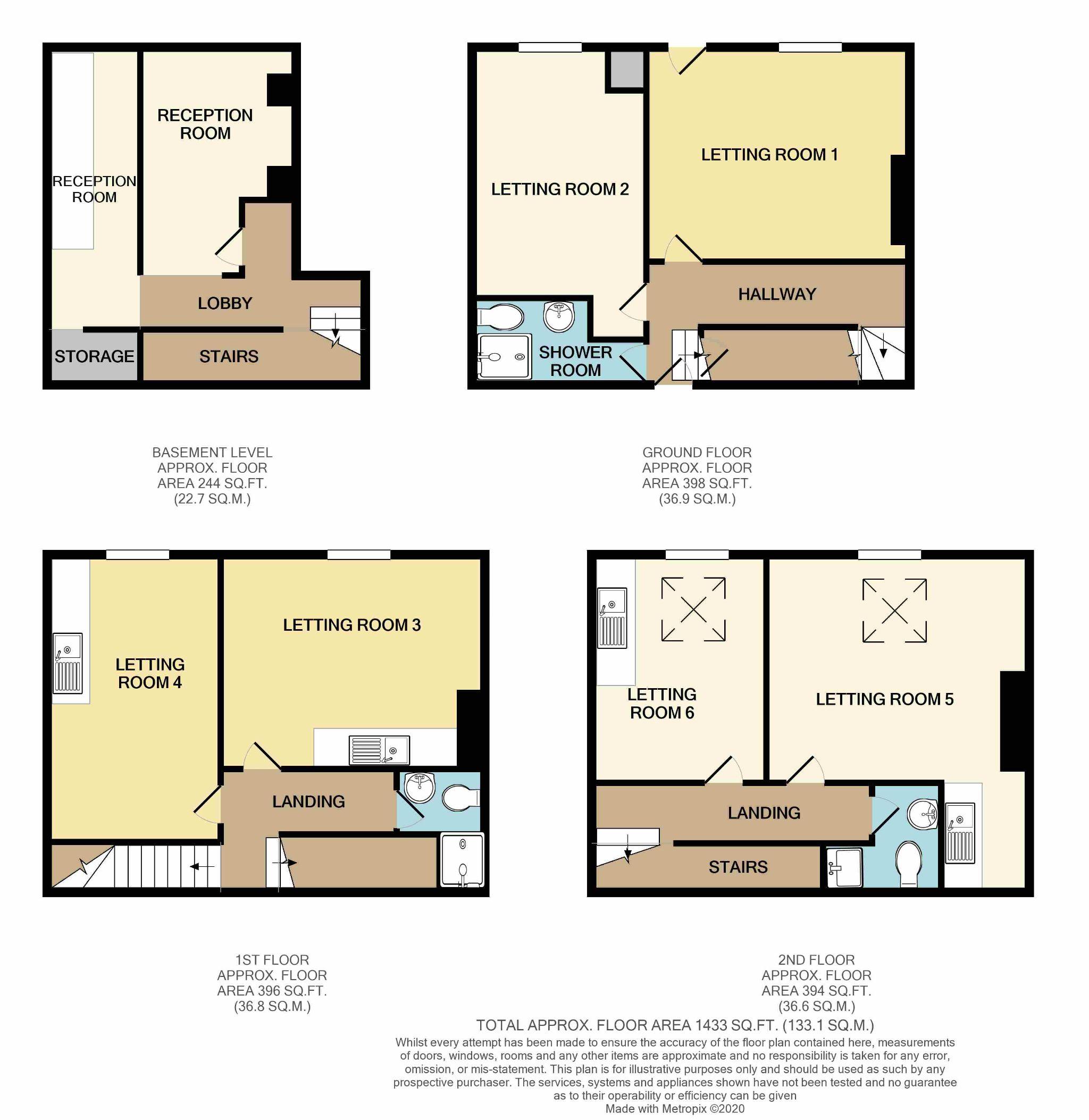 6 Bedroom Undefined House For Sale - Floorplan 1
