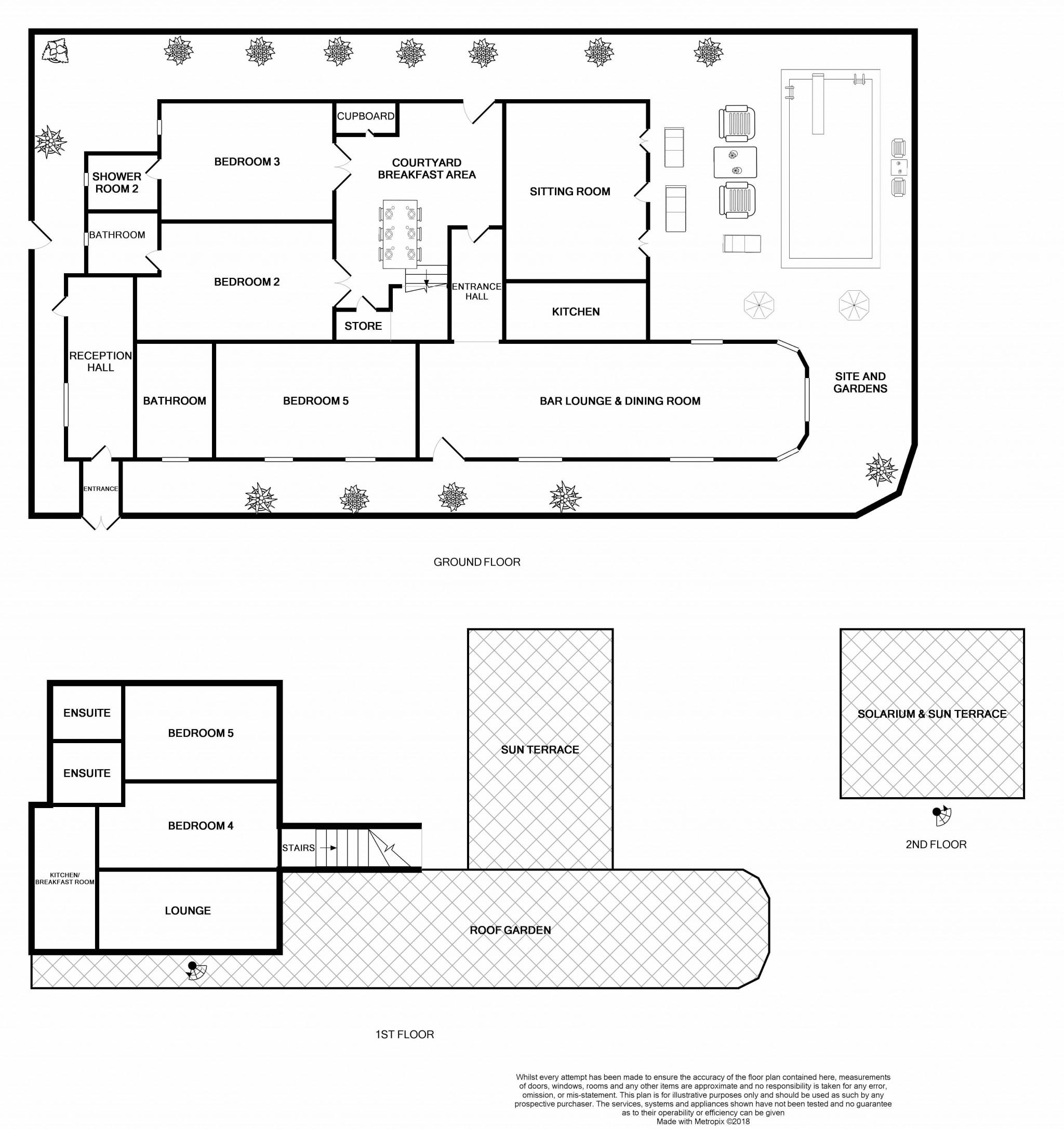 5 Bedroom Detached Villa House For Sale - Floorplan 1