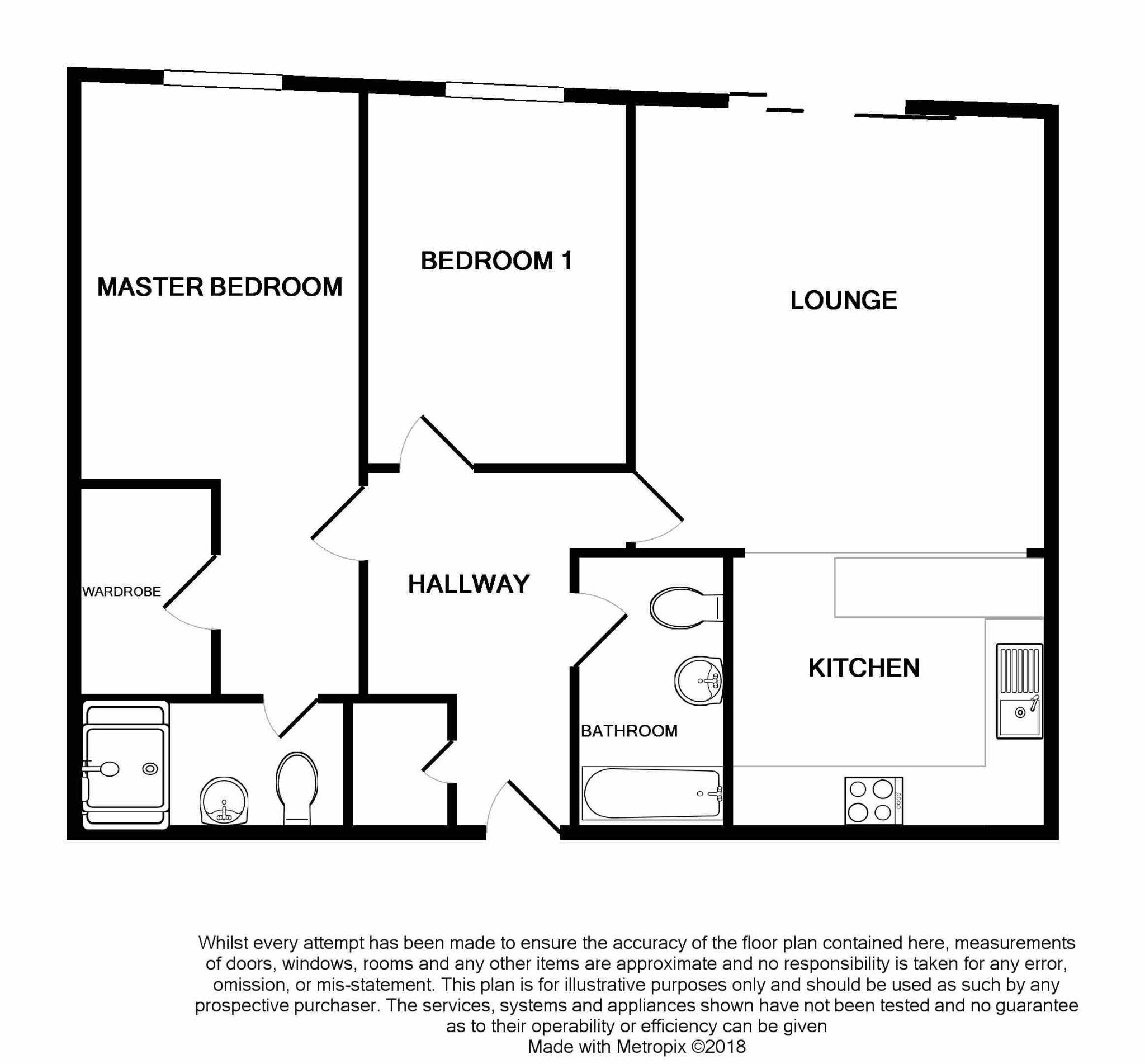 2 Bedroom Ground Floor Flat/apartment To Rent - Floorplan 1