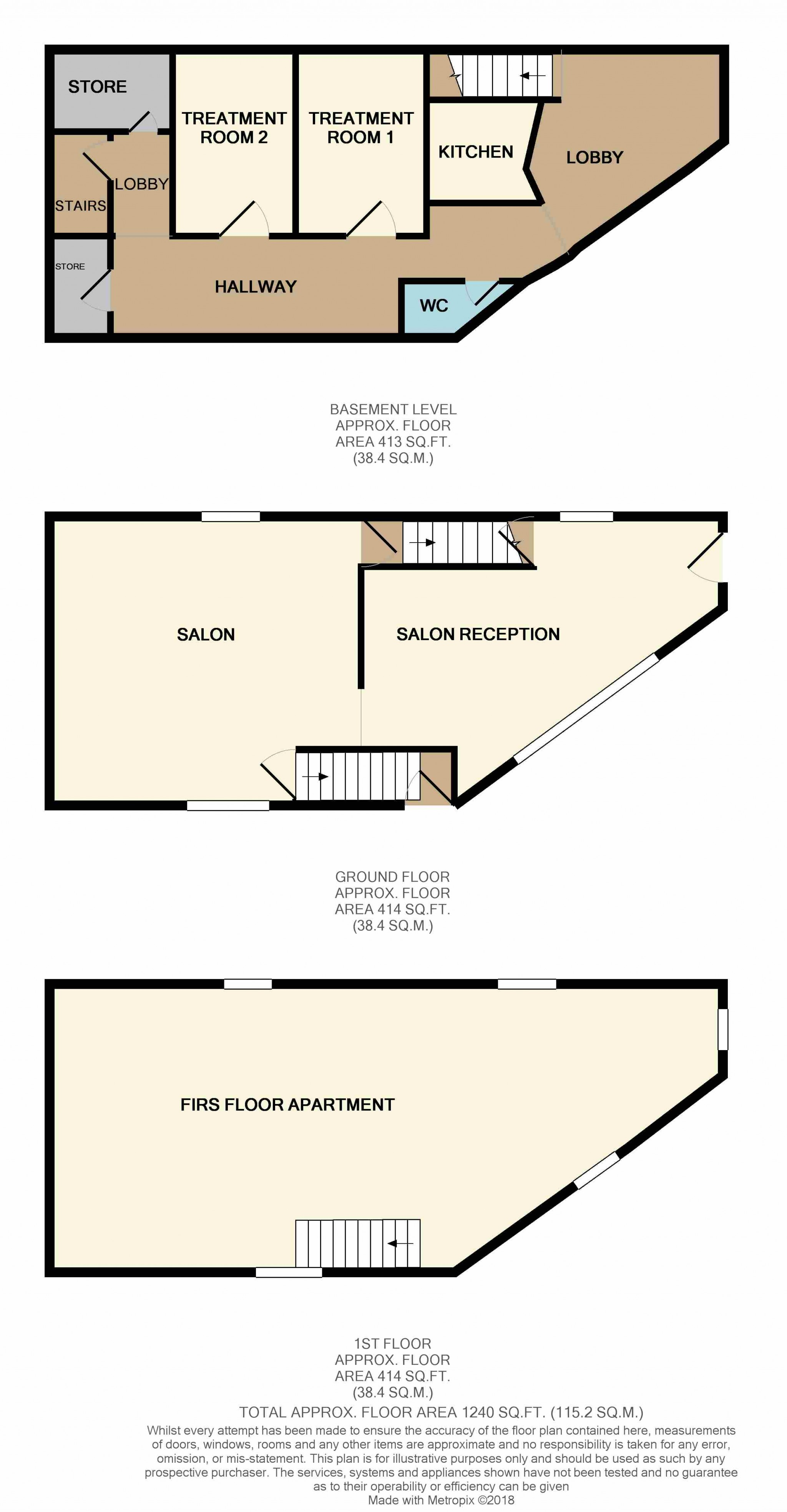 Business Park To Rent - Floorplan 1
