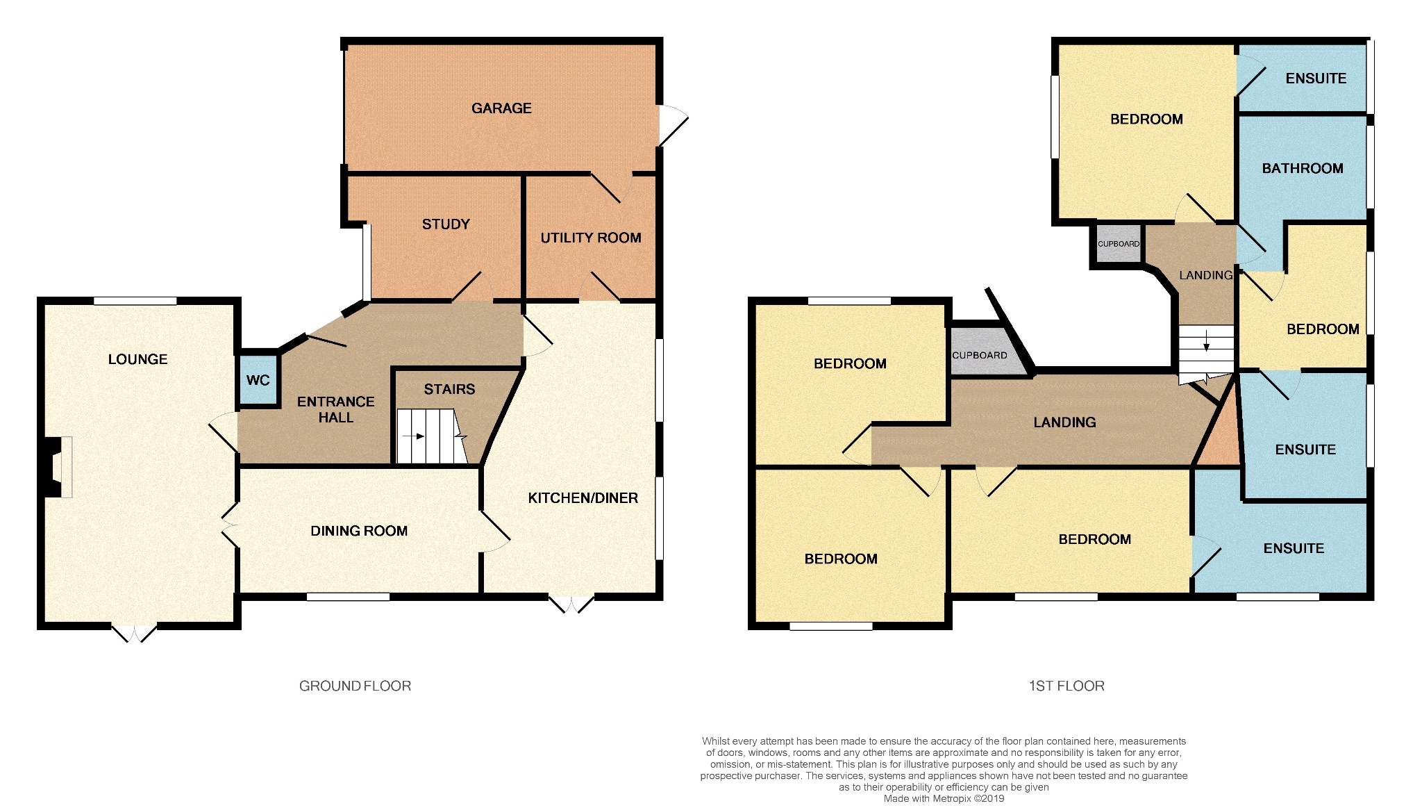5 bedroom detached house For Sale in Todmorden - Floorplan 1.