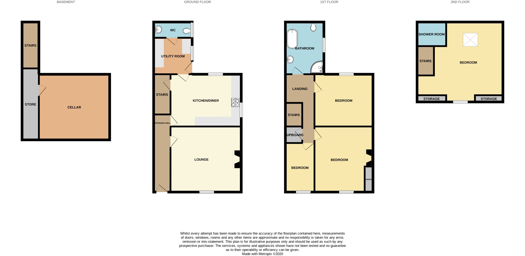 4 bedroom end terraced house For Sale in Calderdale - Photograph 27.