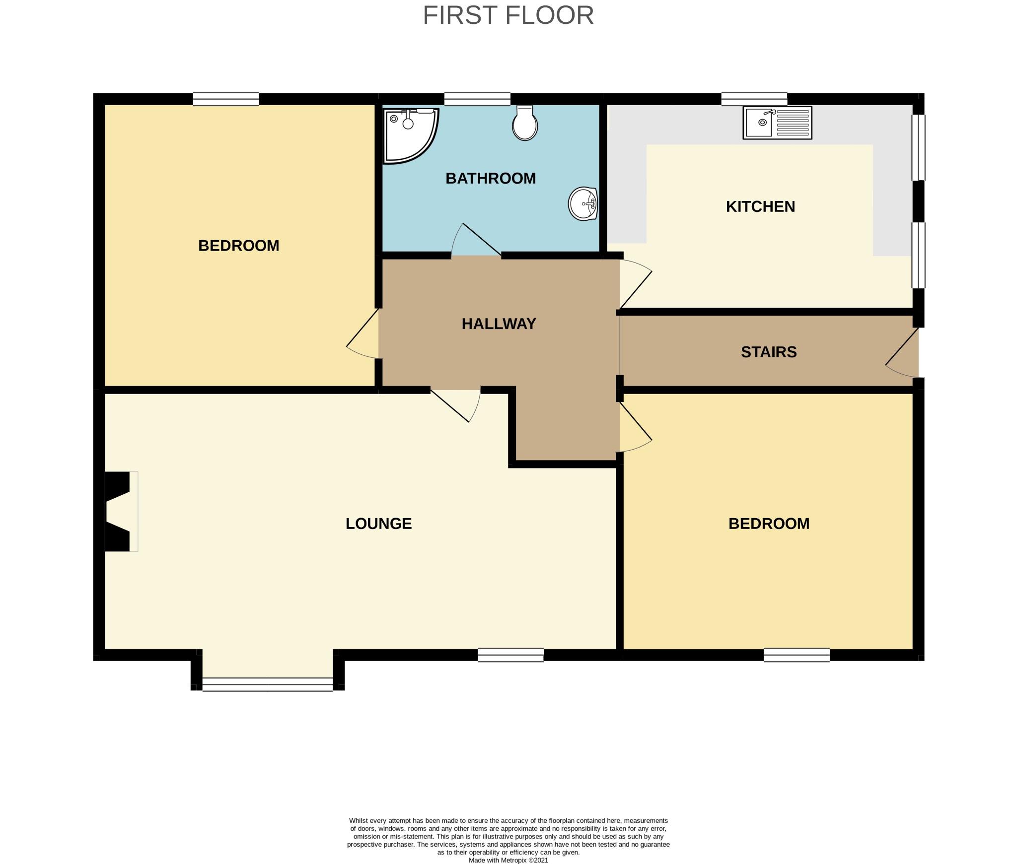 2 bedroom maisonette flat/apartment For Sale in Todmorden - Photograph 1.
