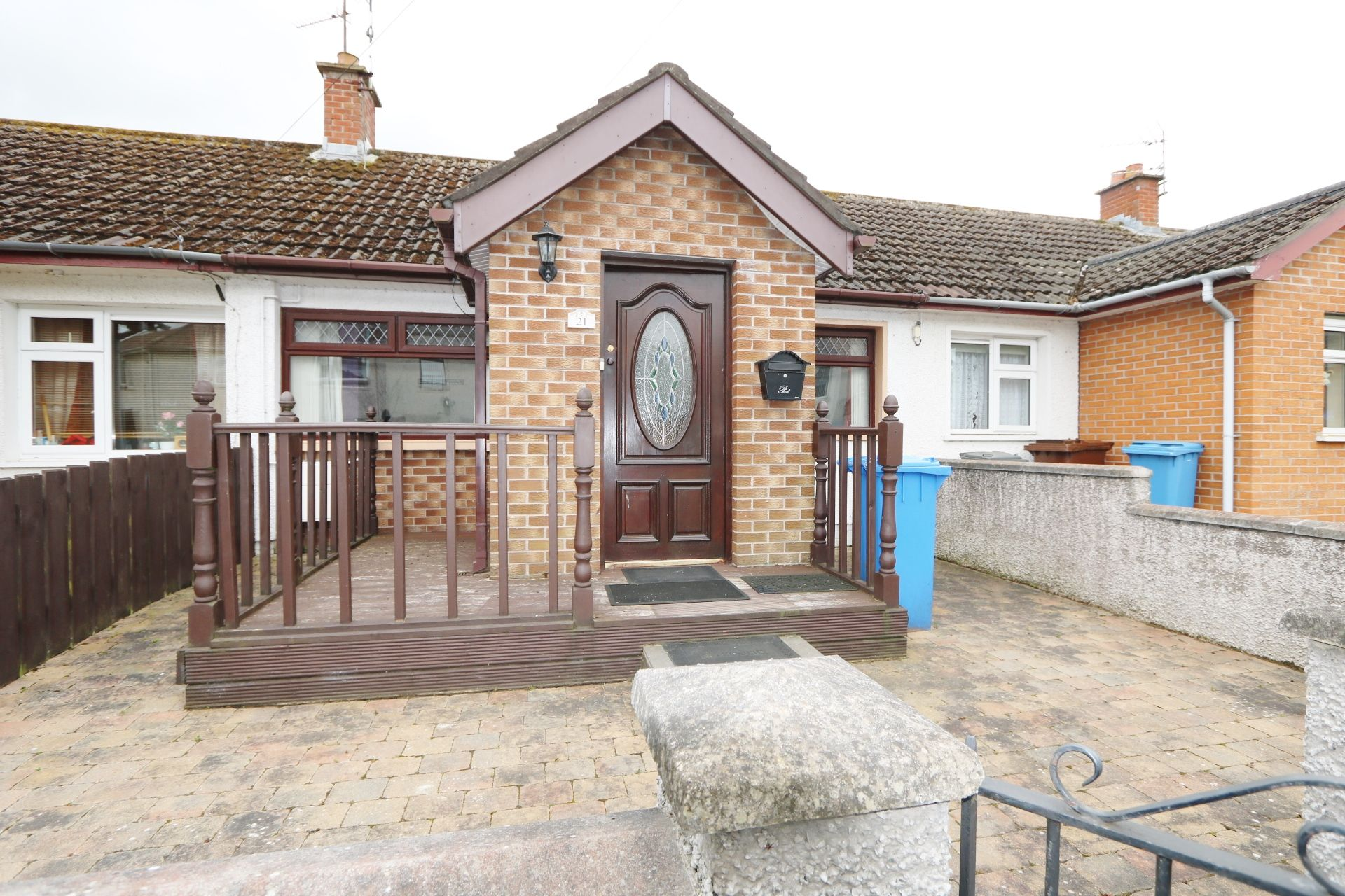 1 bedroom terraced bungalow For Sale in Antrim - Property photograph