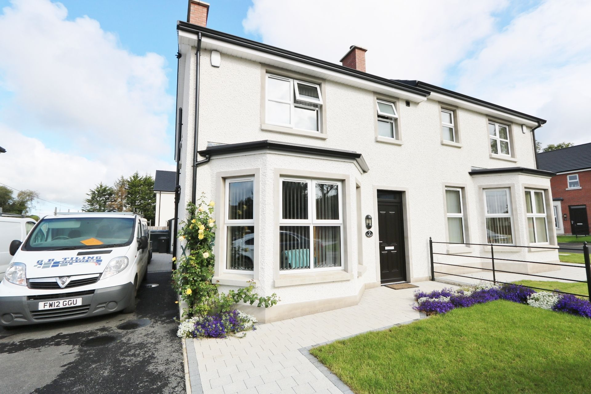 3 bedroom semi-detached house For Sale in Milltown, Randalstown - Photograph 1