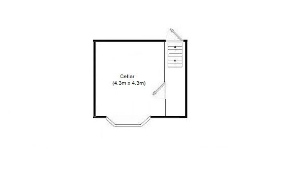 3 bedroom mid terraced house SSTC in Stockport - Floorplan 2.