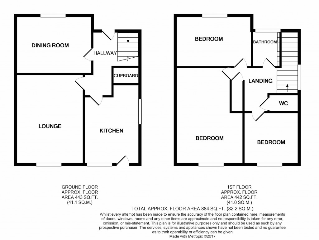 3 bedroom semi-detached house SSTC in Ipswich - floorplan 1