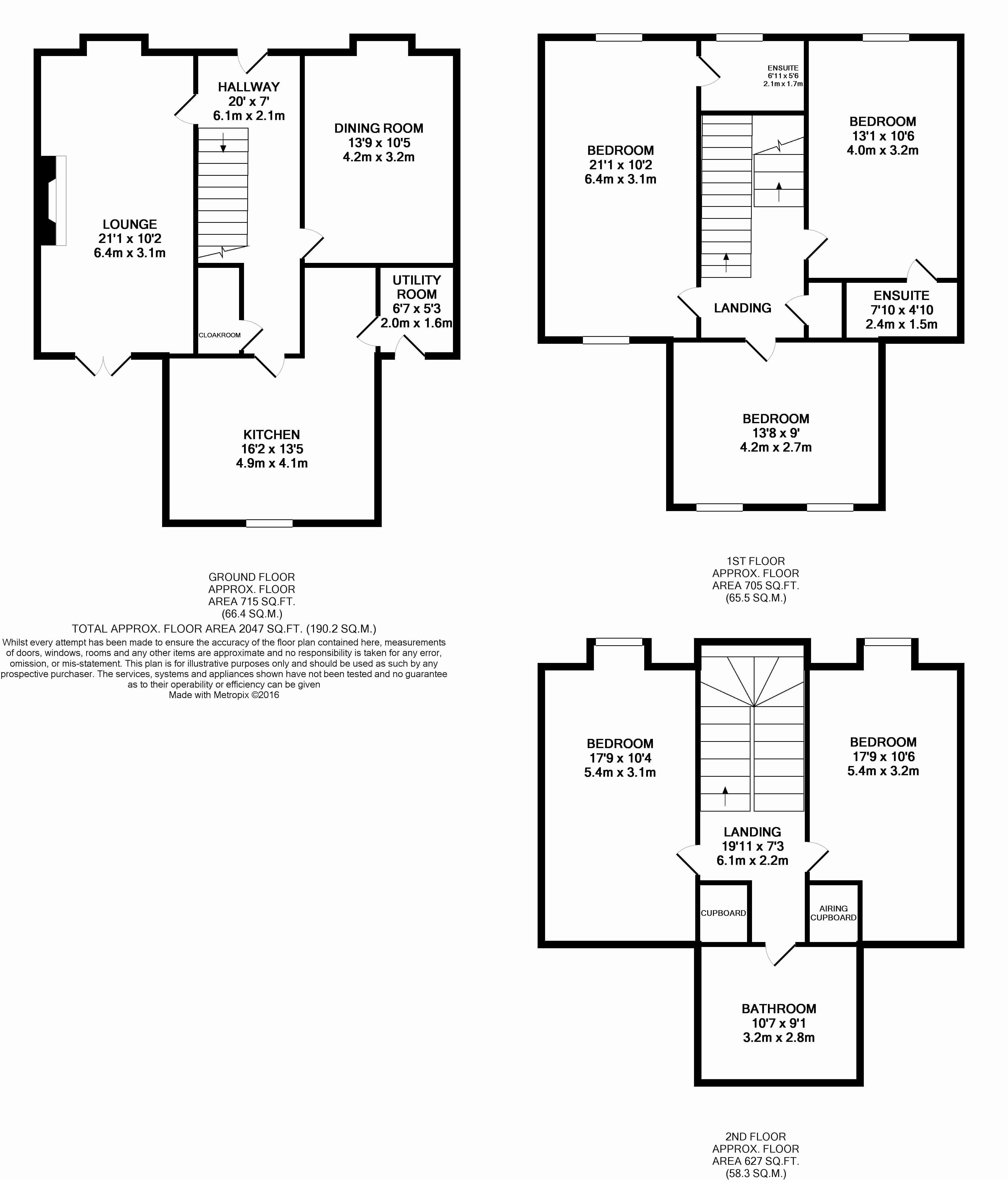 5 bedroom detached house SSTC in Rendlesham - floorplan 1
