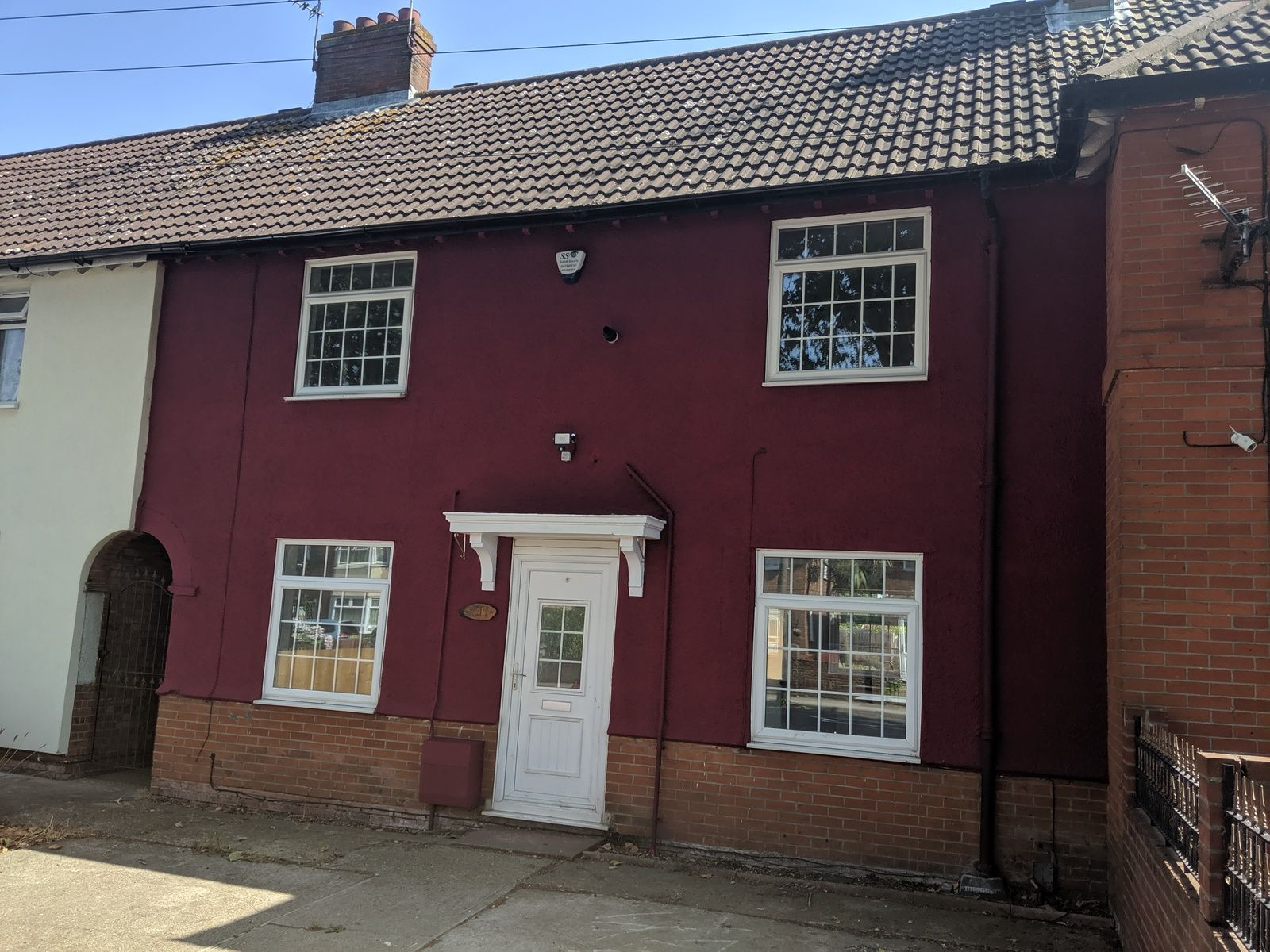 3 bedroom mid terraced house To Let in Ipswich - Front of House