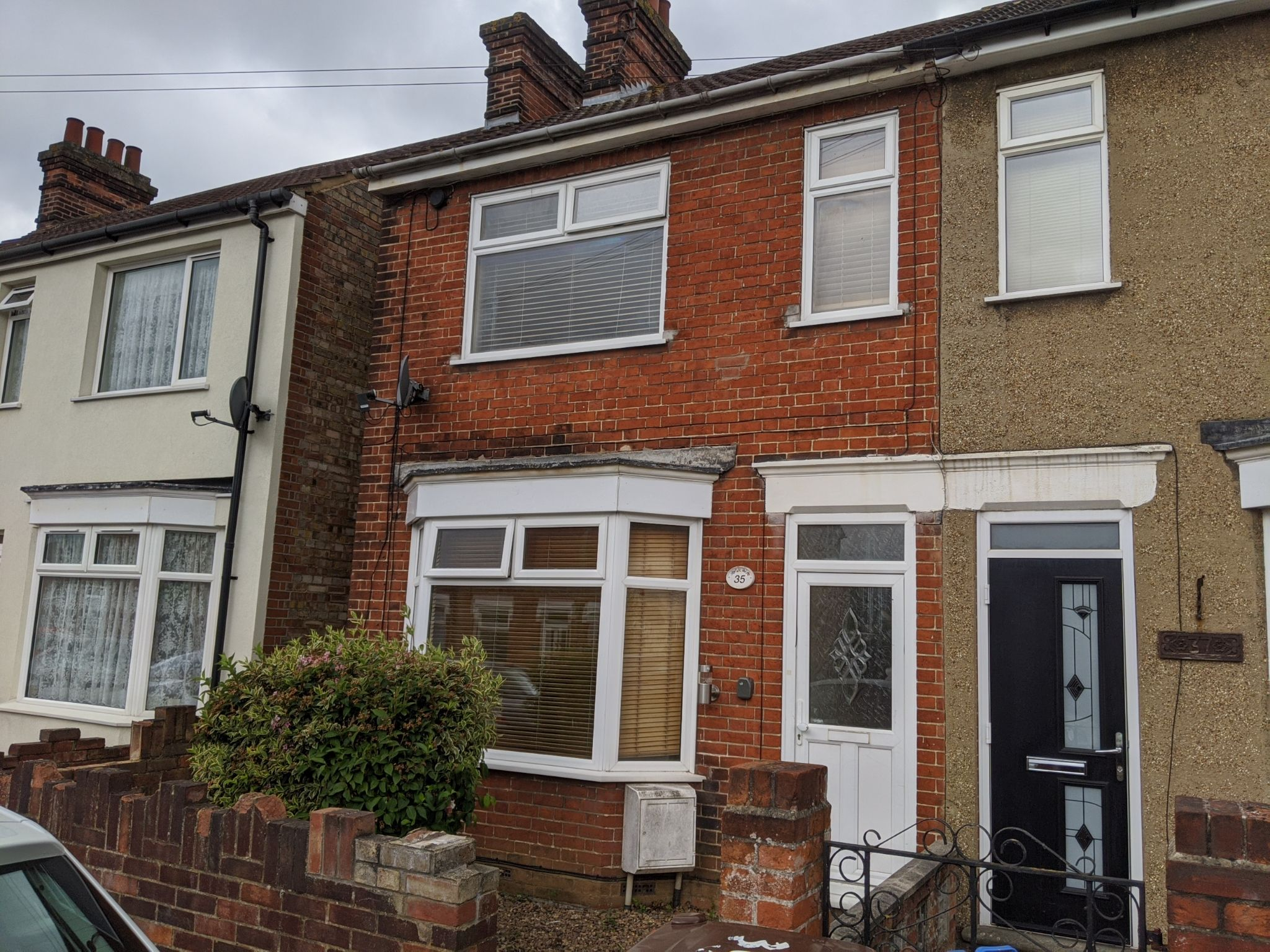 3 bedroom end terraced house To Let in Ipswich - Front of Property