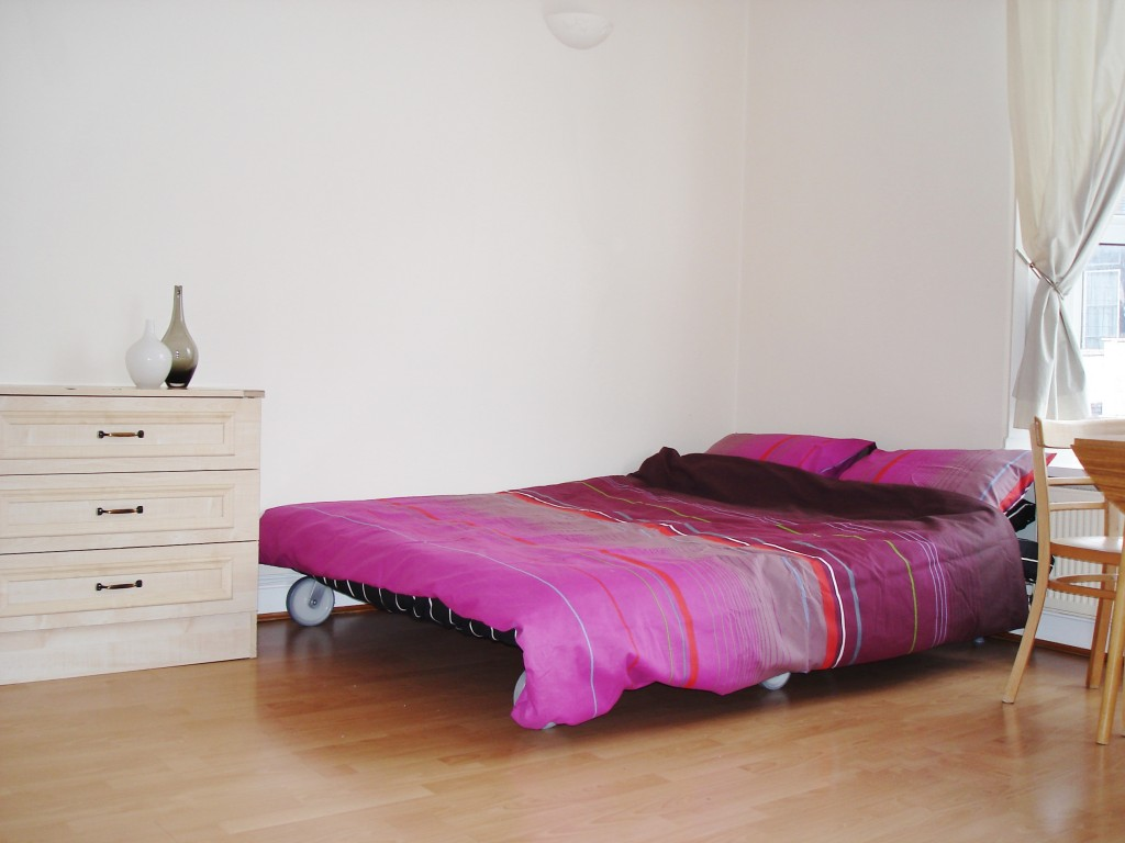 1 bedroom studio flat/apartment To Let in Brent - Laminate flooring throughout