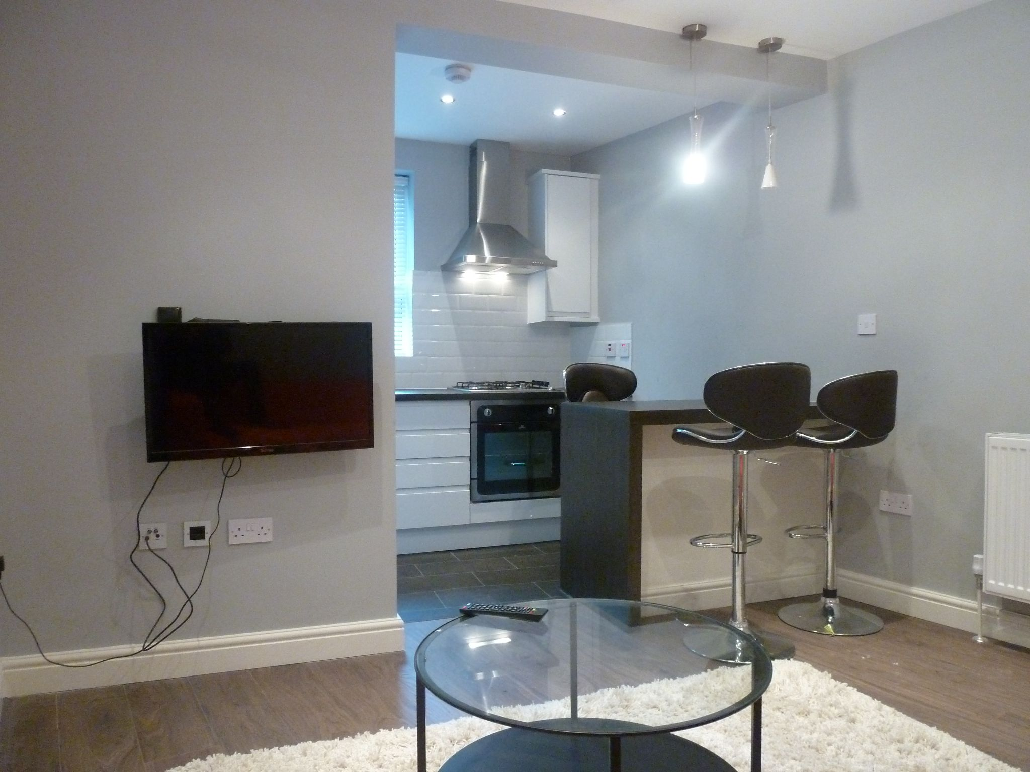 1 bedroom flat flat/apartment To Let in Brent - Open plan kitchen/living room