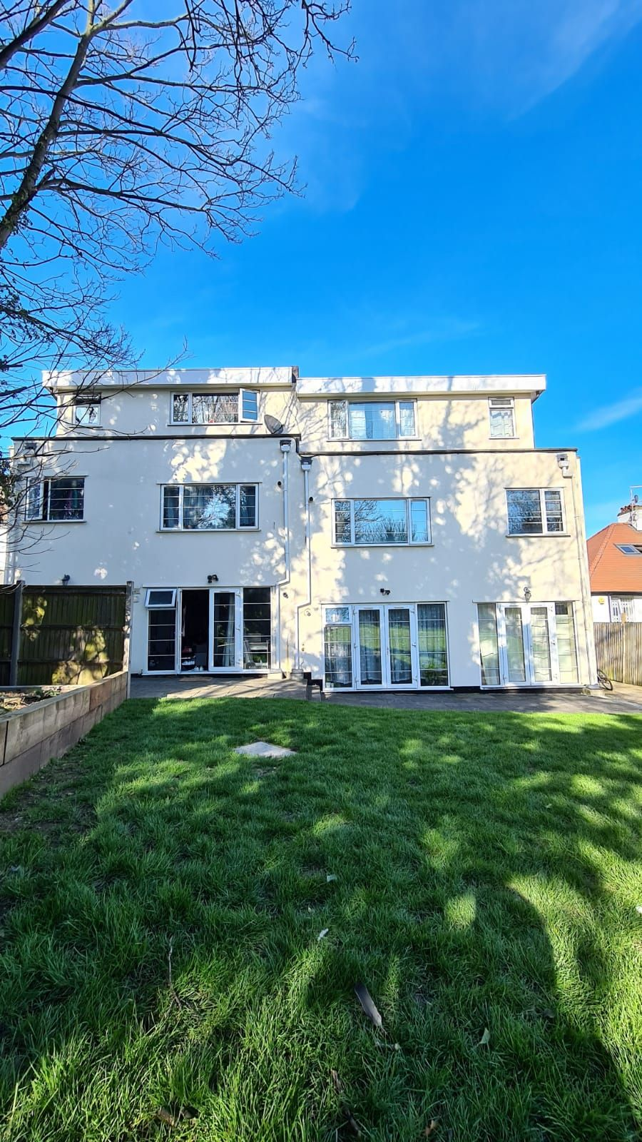 1 bedroom flat flat/apartment To Let in Wembley - Rear View of the Property