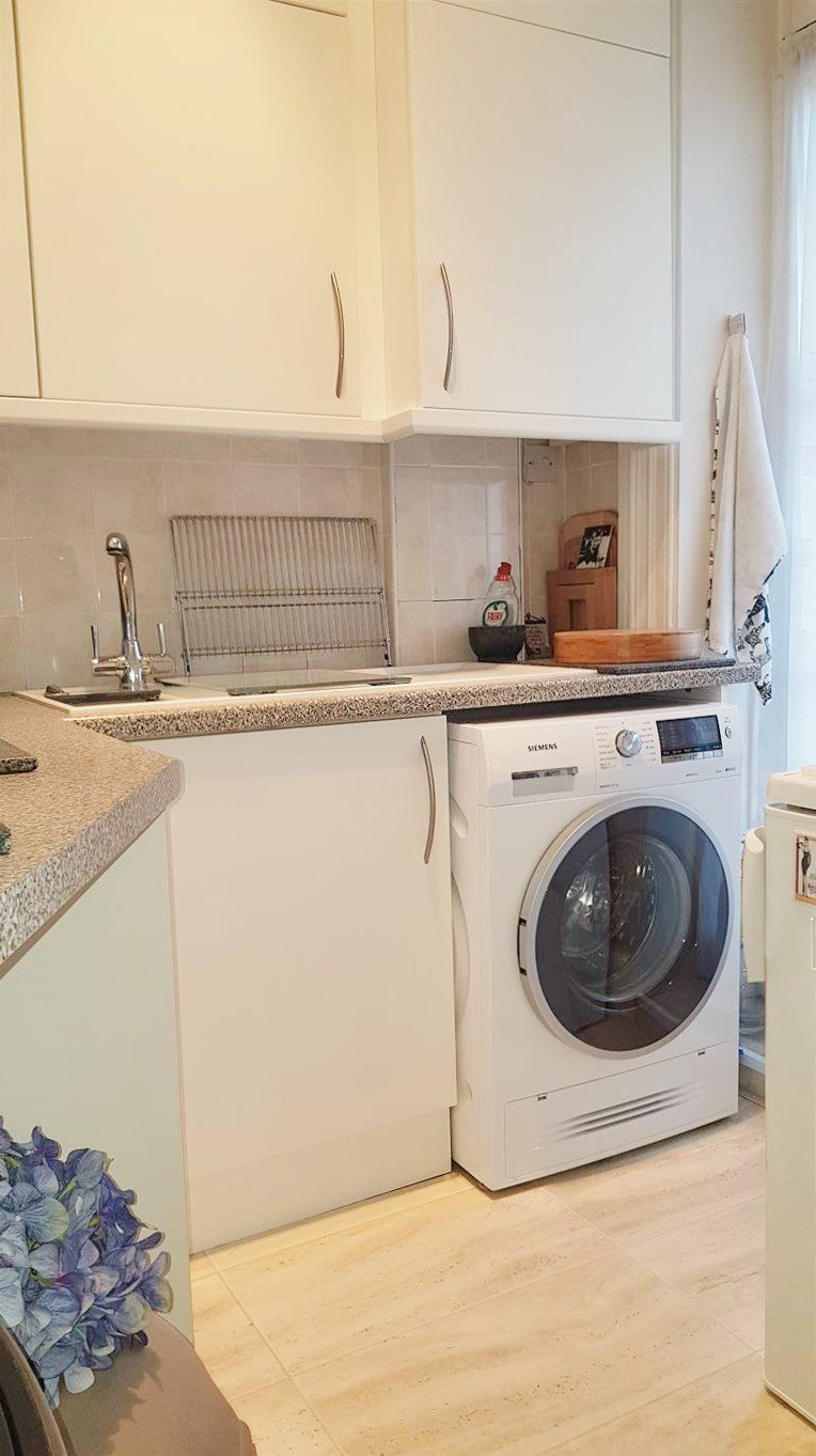 2 bedroom flat flat/apartment To Let in London - KITCHEN AREA WITH WASHING MACHINE