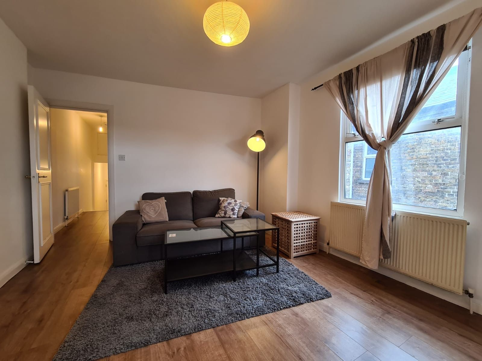 2 bedroom apartment flat/apartment To Let in Brent - Living Room Wood flooring