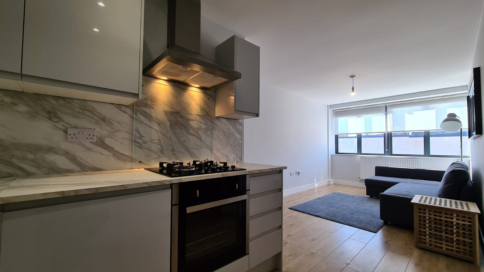 1 bedroom flat flat/apartment To Let in Kingsbury - Kitchen/Living
