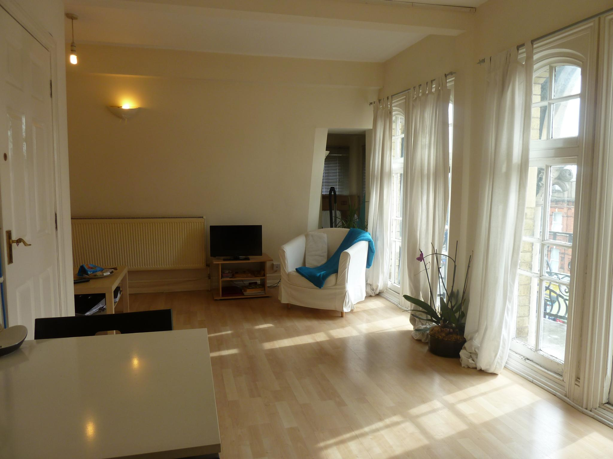 1 bedroom apartment flat/apartment To Let in London - FULLY LAMINATED FLOORING