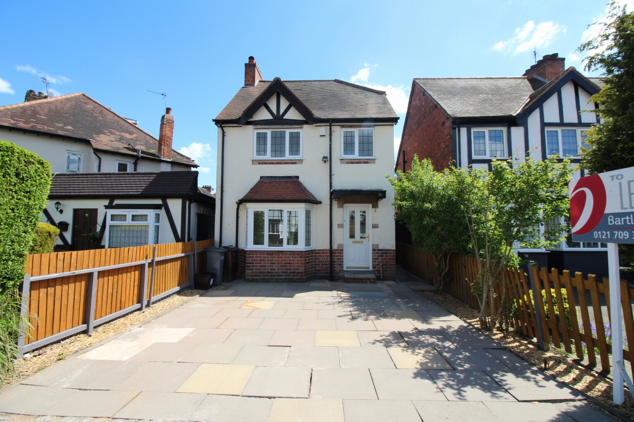 2 bedroom detached house Let Agreed in Solihull - Photograph 1.