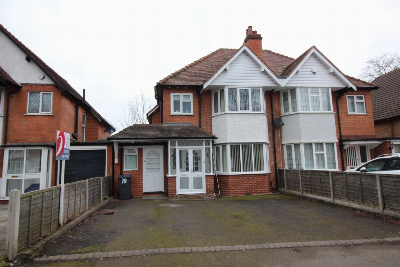 3 bedroom semi-detached house Let Agreed in Birmingham - Photograph 1.