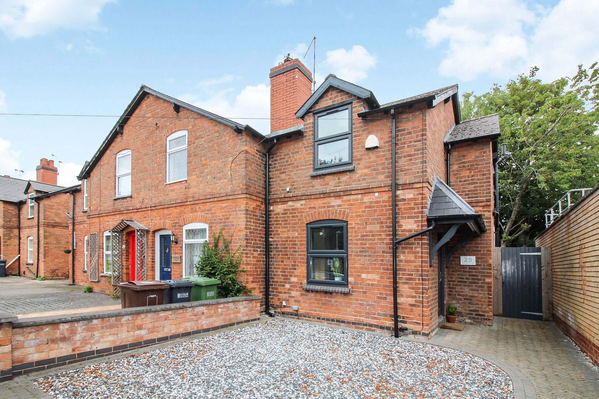 2 bedroom end terraced house For Sale in Solihull - Photograph 1.