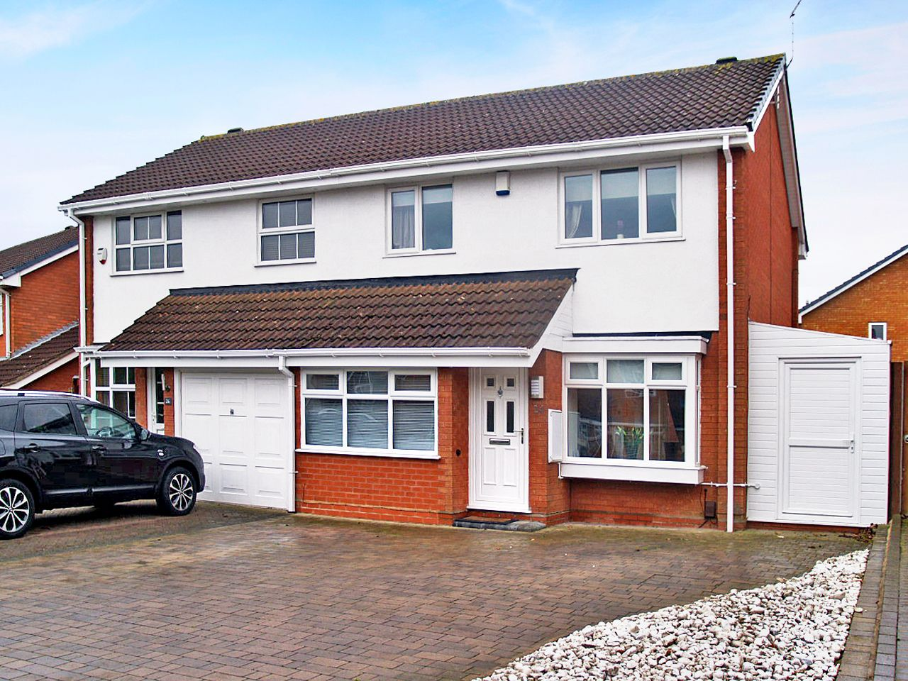 3 bedroom semi-detached house To Let in Solihull - Photograph 1.