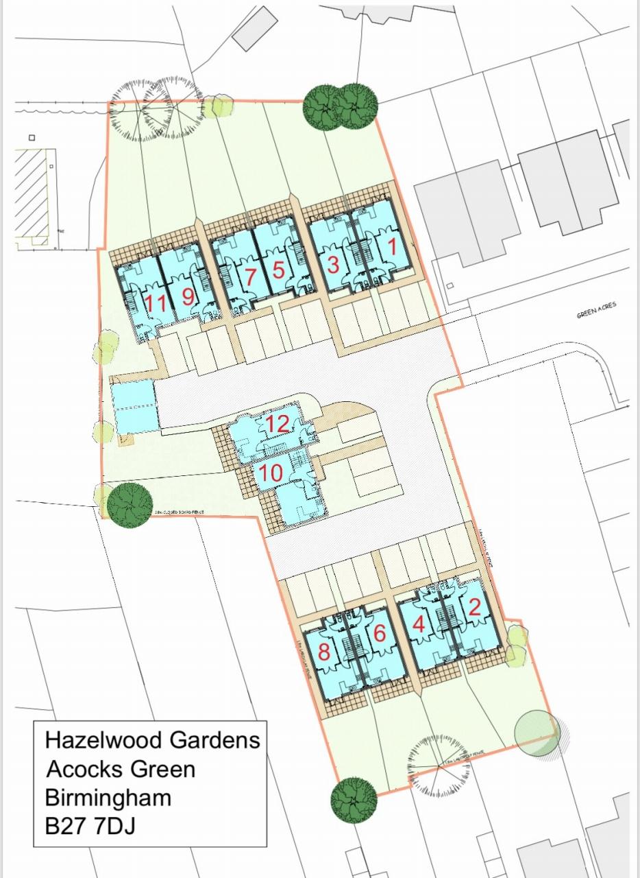 4 bedroom semi-detached house Let Agreed in Birmingham - Floorplan 1.