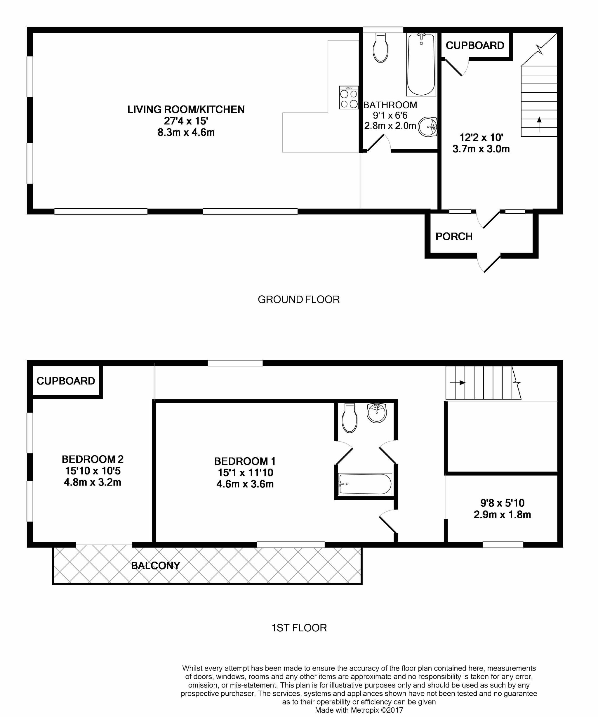4 bedroom detached house For Sale in Laxey - Floorplan 1