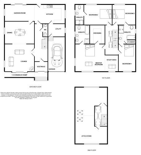 5 bedroom detached house For Sale in Port St Mary - Floorplan 1