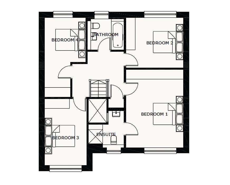 4 bedroom detached house For Sale in Ramsey - First Floor