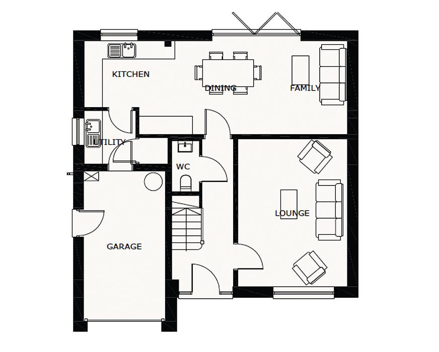 4 bedroom detached house For Sale in Ramsey - Ground Floor