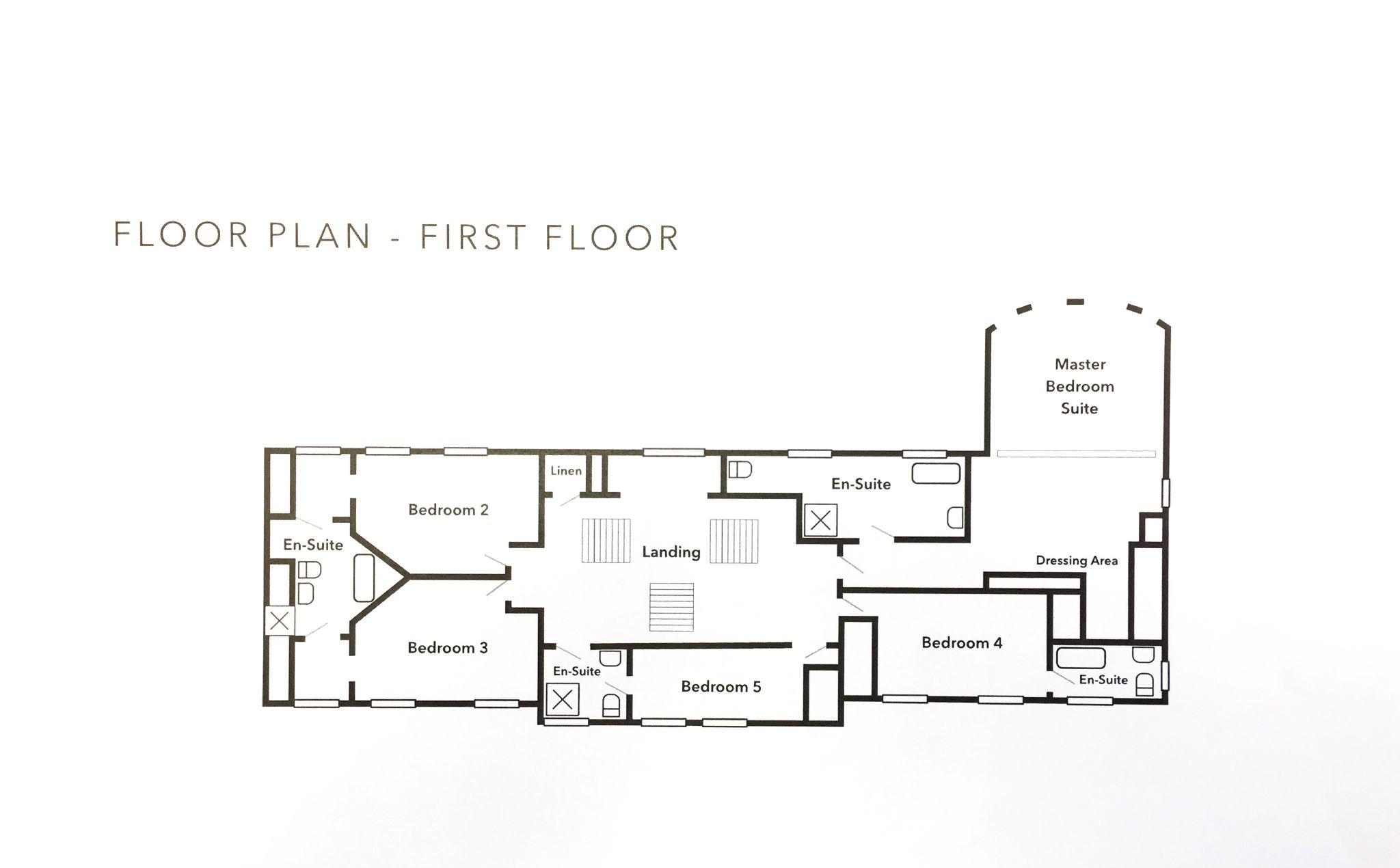 5 bedroom detached house For Sale in Onchan - Floorplan 2