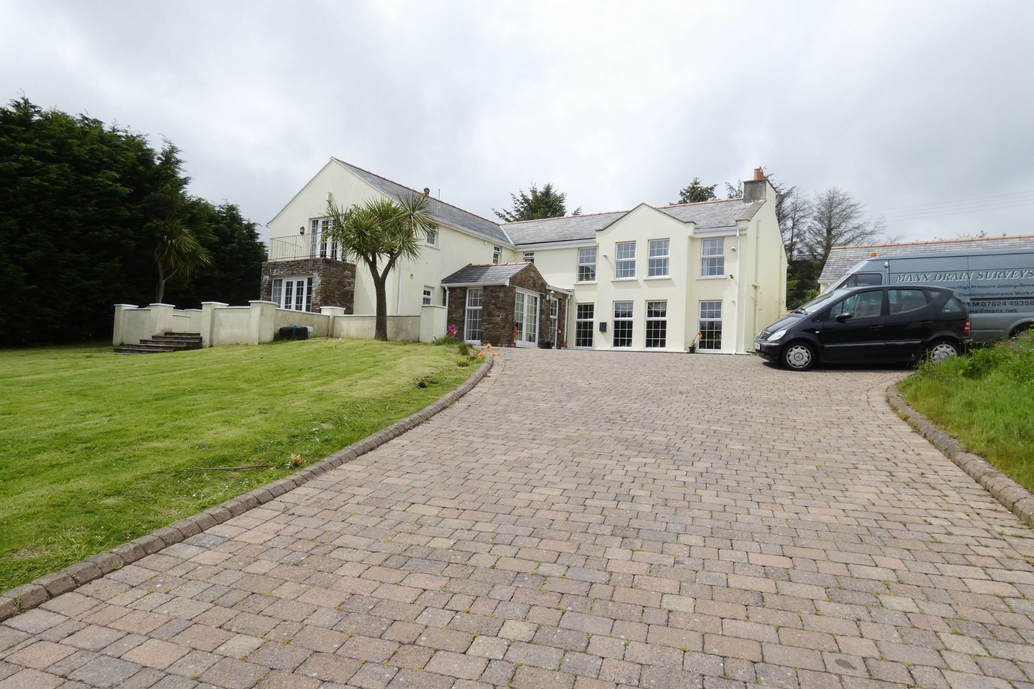 7 bedroom detached house For Sale in Laxey - Photograph 1