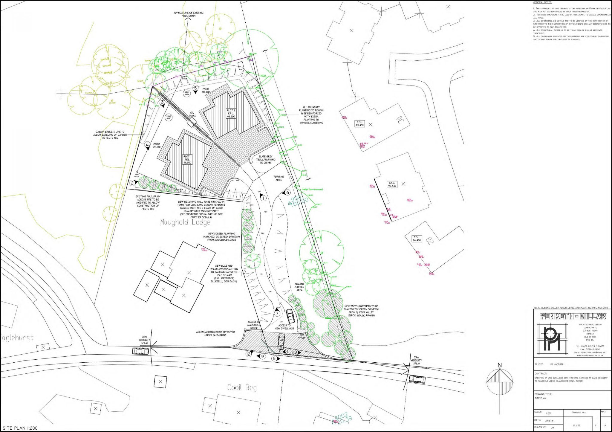 4 bedroom plot land For Sale in Ramsey - Property photograph