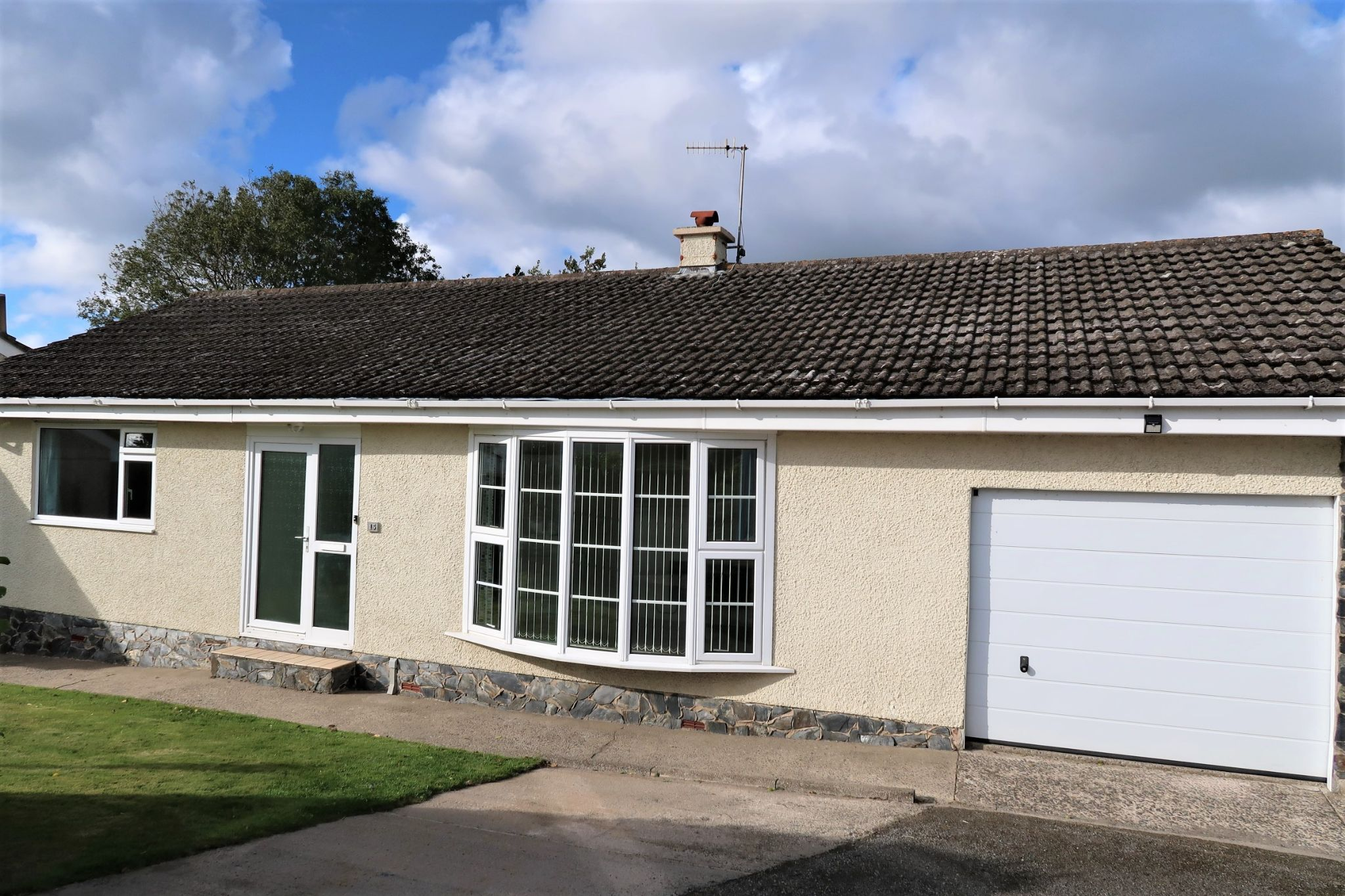 3 bedroom detached bungalow For Sale in Ballabeg - Photograph 1