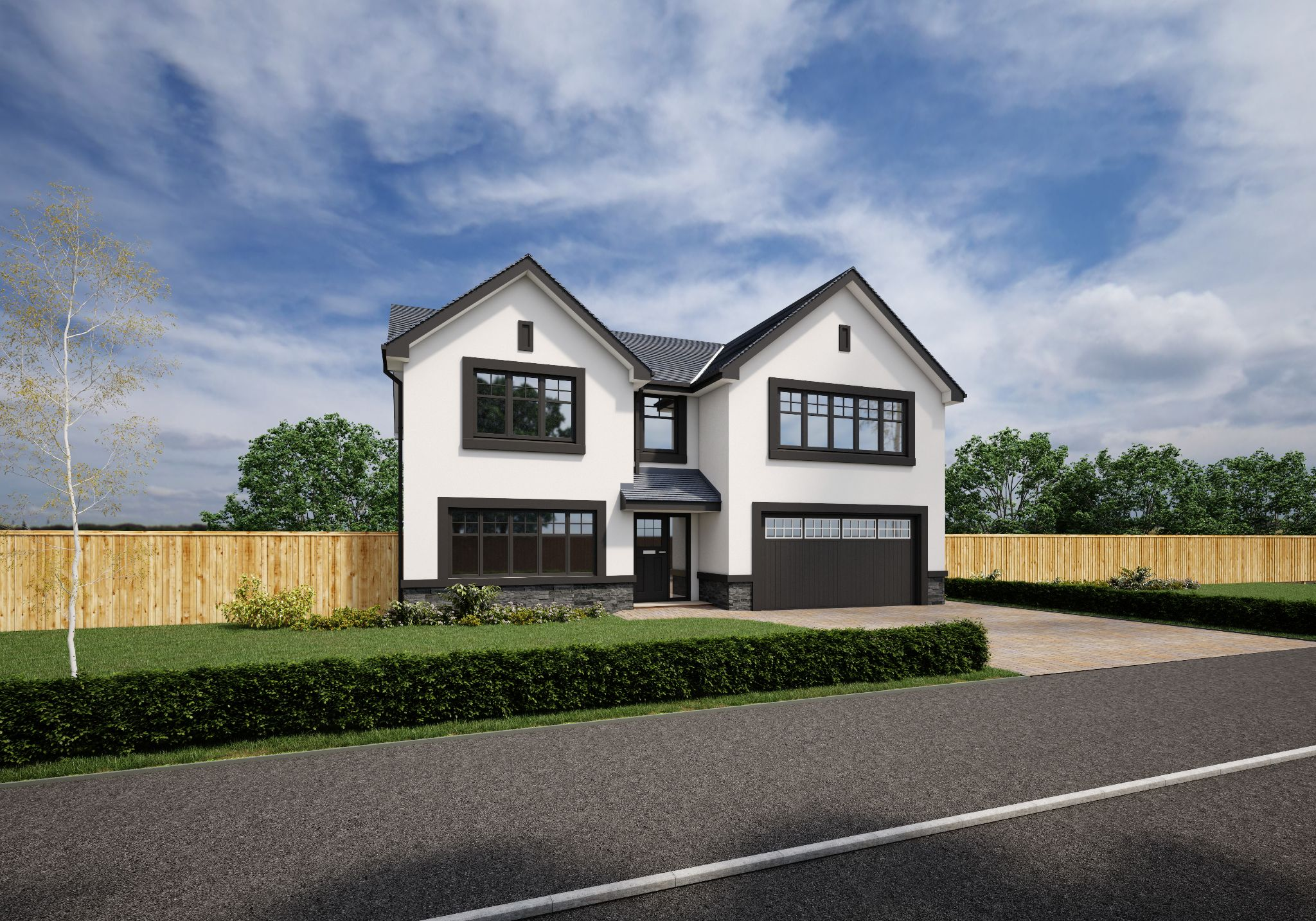 5 bedroom detached house For Sale in Glen Vine - Property photograph