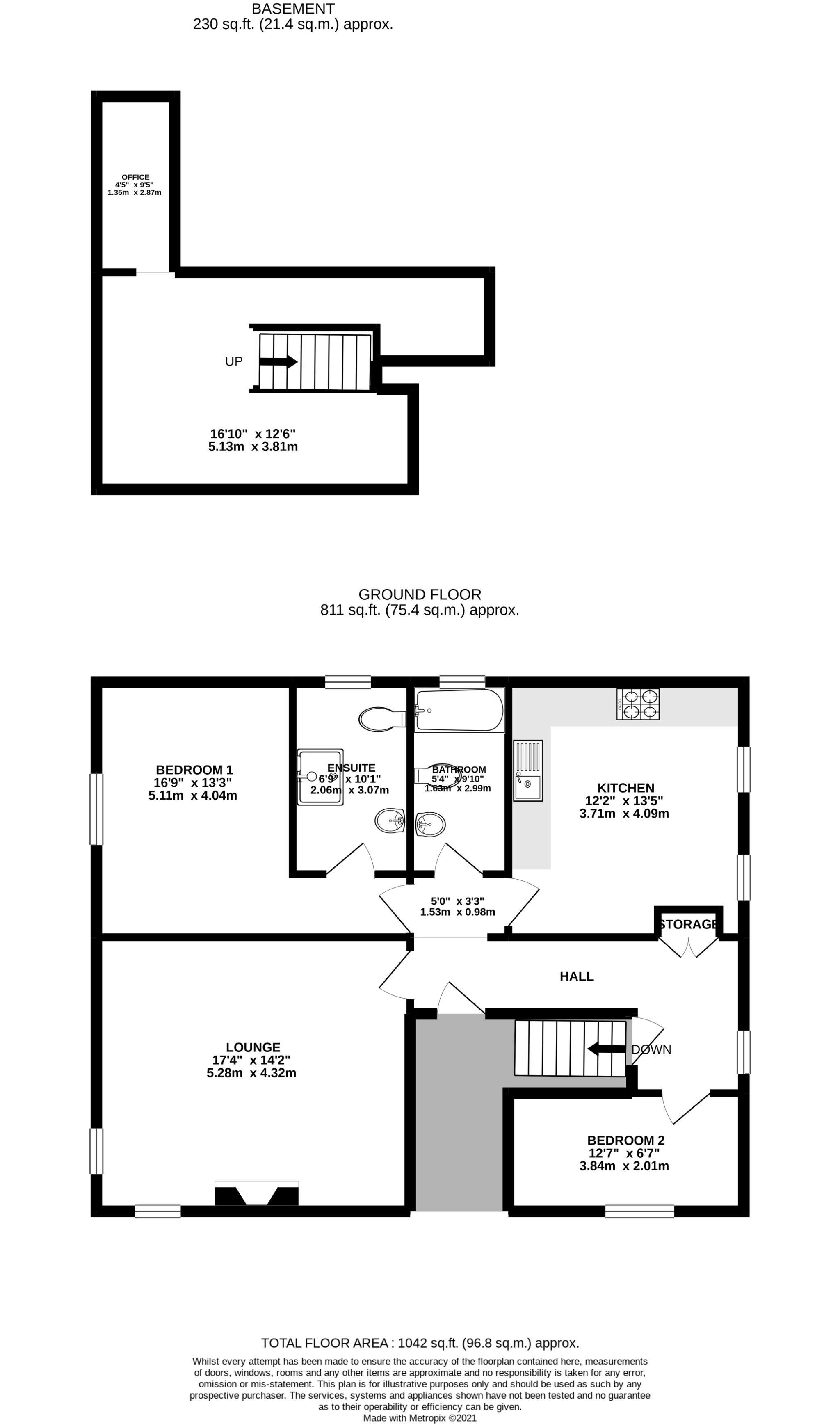 2 bedroom apartment flat/apartment SSTC in Douglas - Floorplan 1