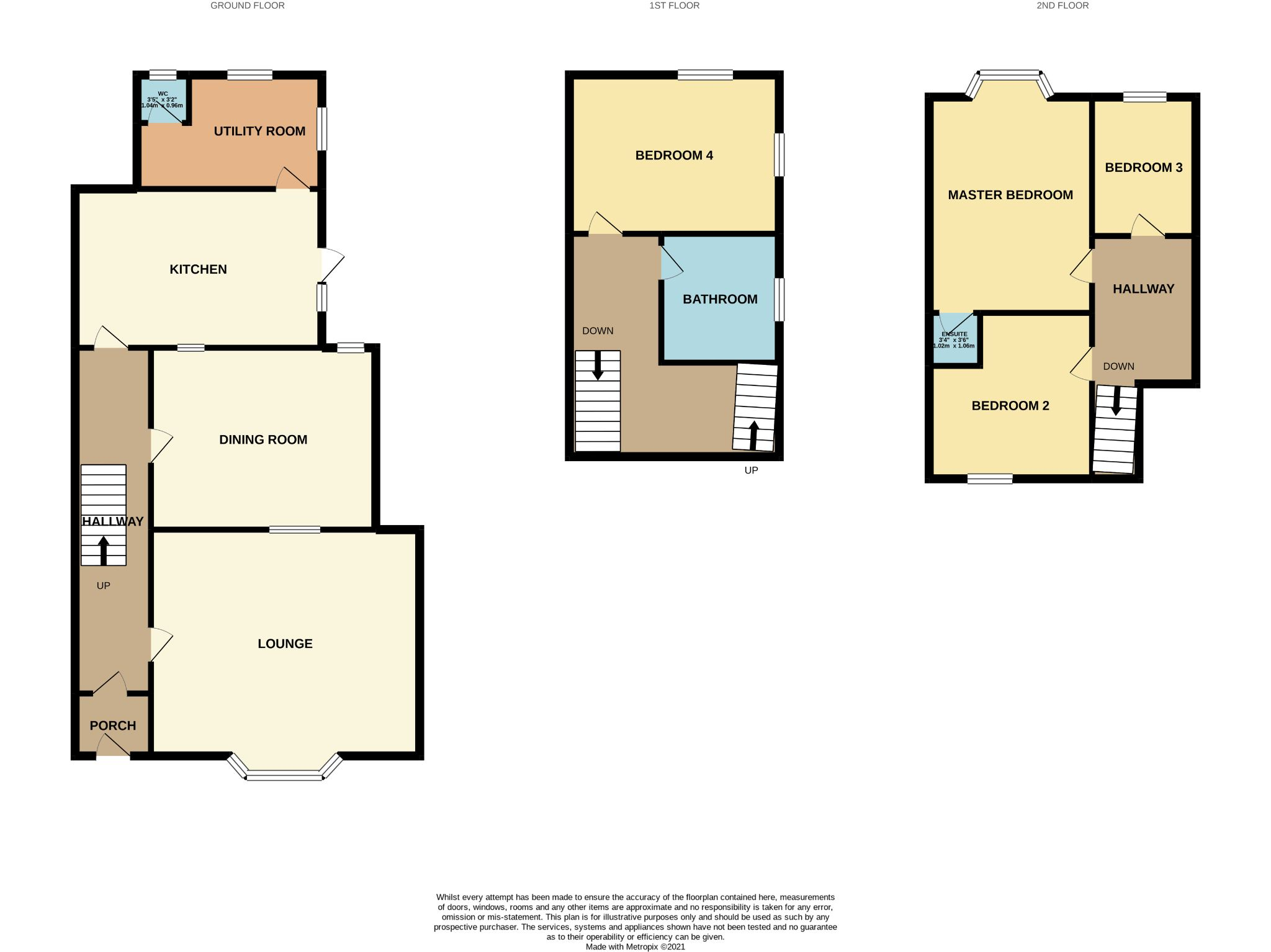 4 bedroom apartment flat/apartment For Sale in Port St. Mary - Floorplan 1
