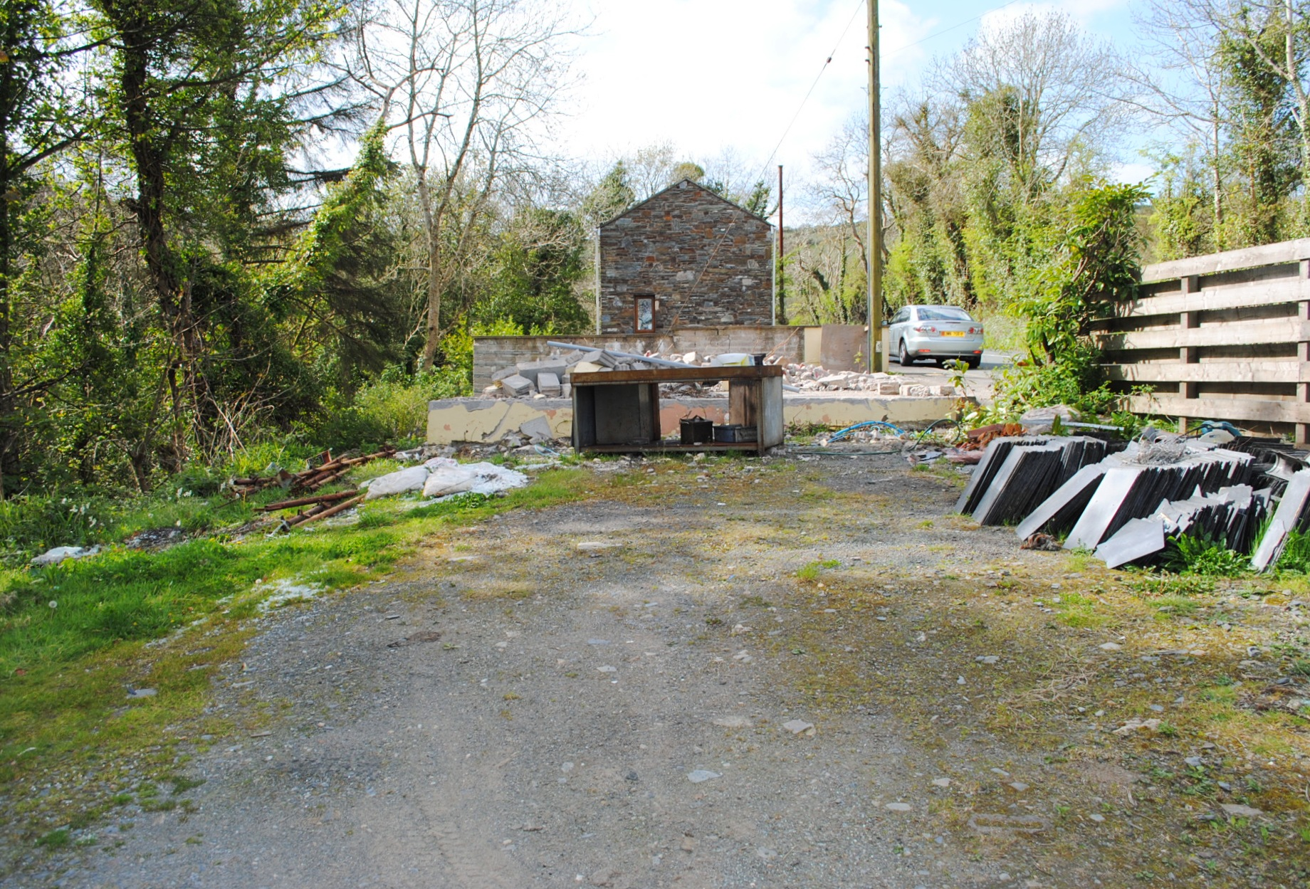Land Sale Agreed in Foxdale - Property photograph