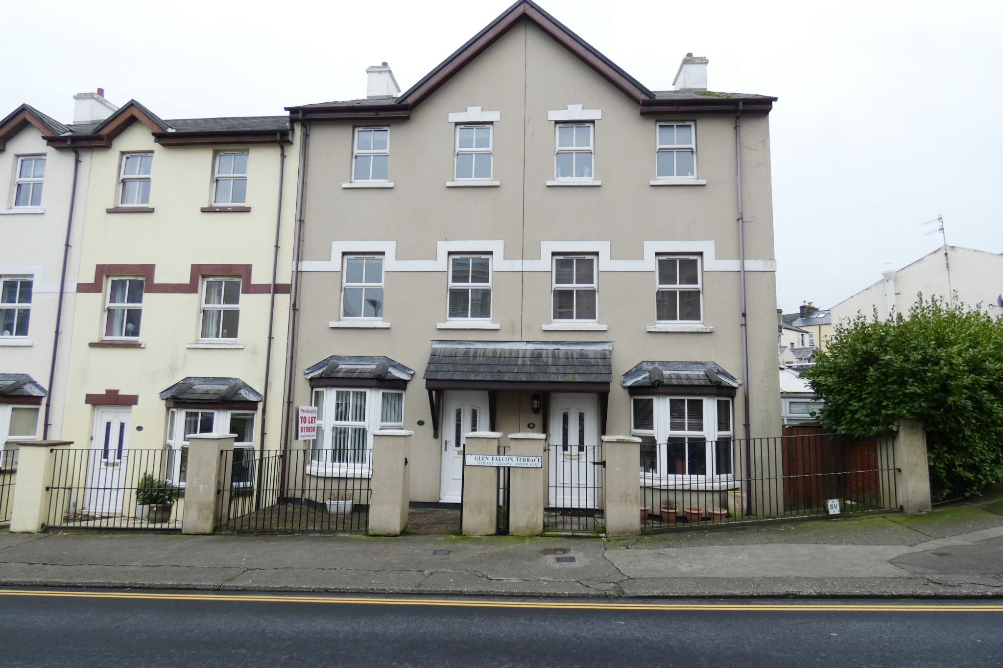 4 bedroom mid terraced house Let Agreed in Douglas - Photograph 1